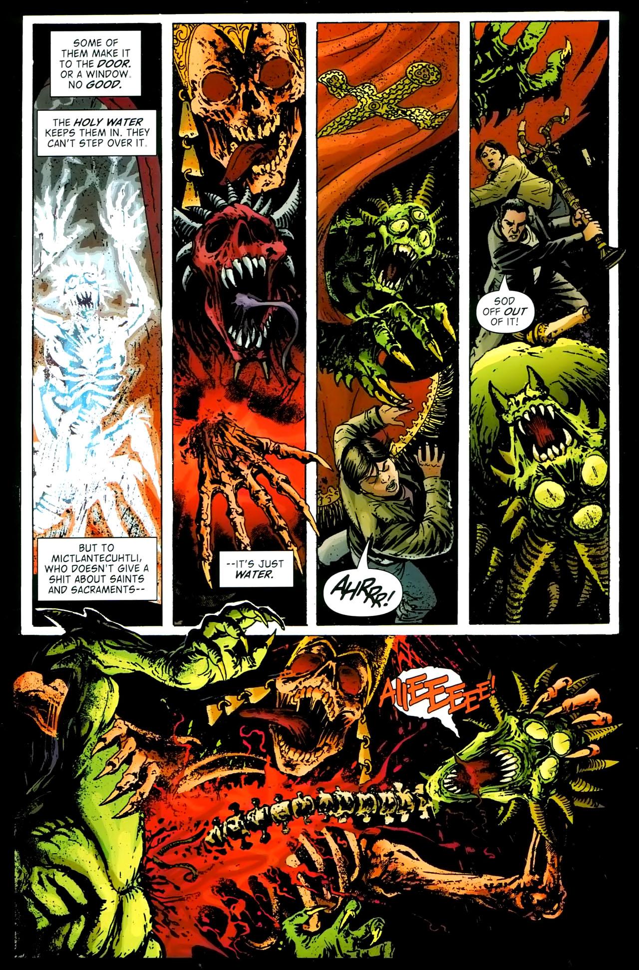 Read online John Constantine Hellblazer: All His Engines comic -  Issue # Full - 83