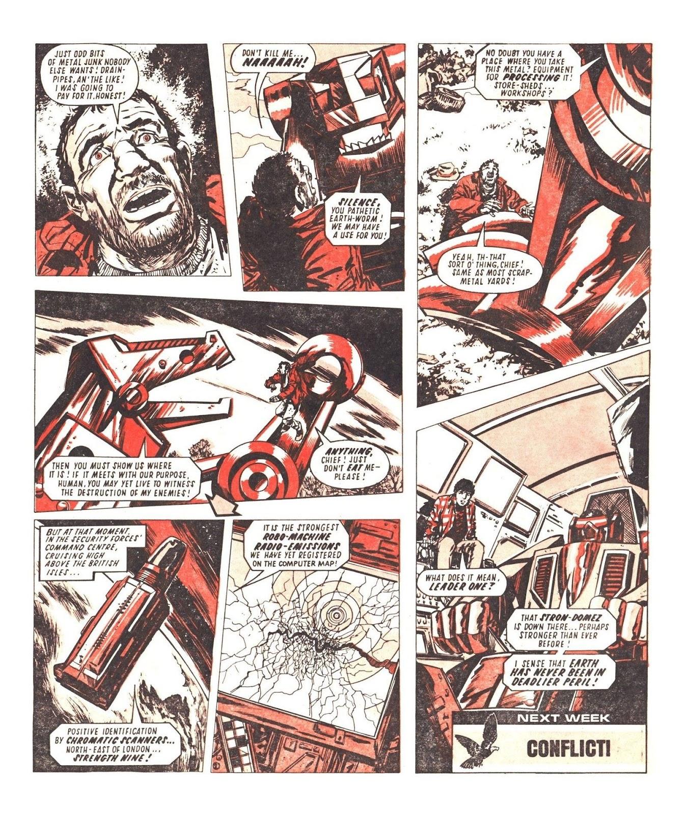 Read online Robo Machines comic -  Issue # TPB - 72
