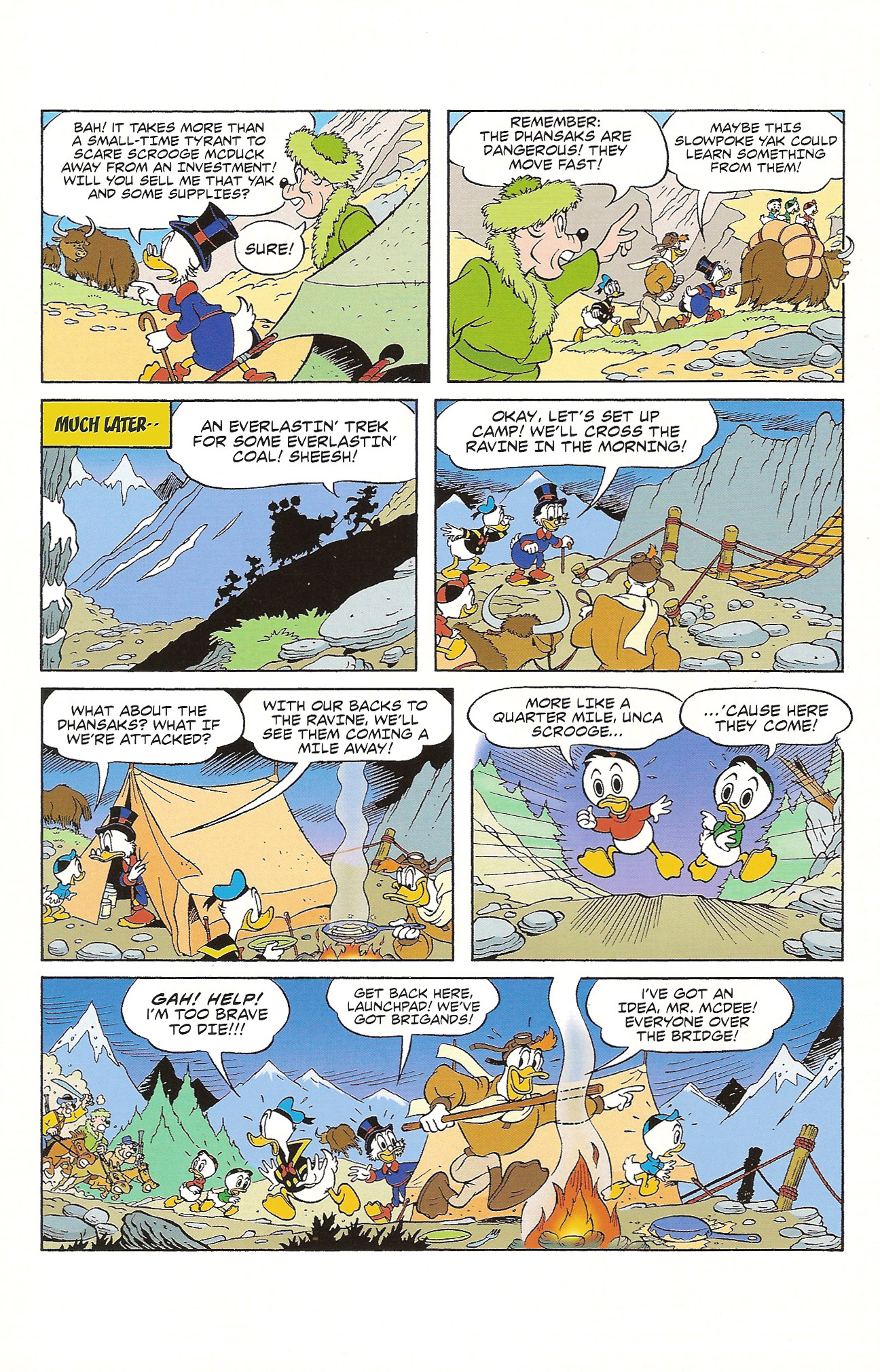 Read online Uncle Scrooge (1953) comic -  Issue #392 - 10