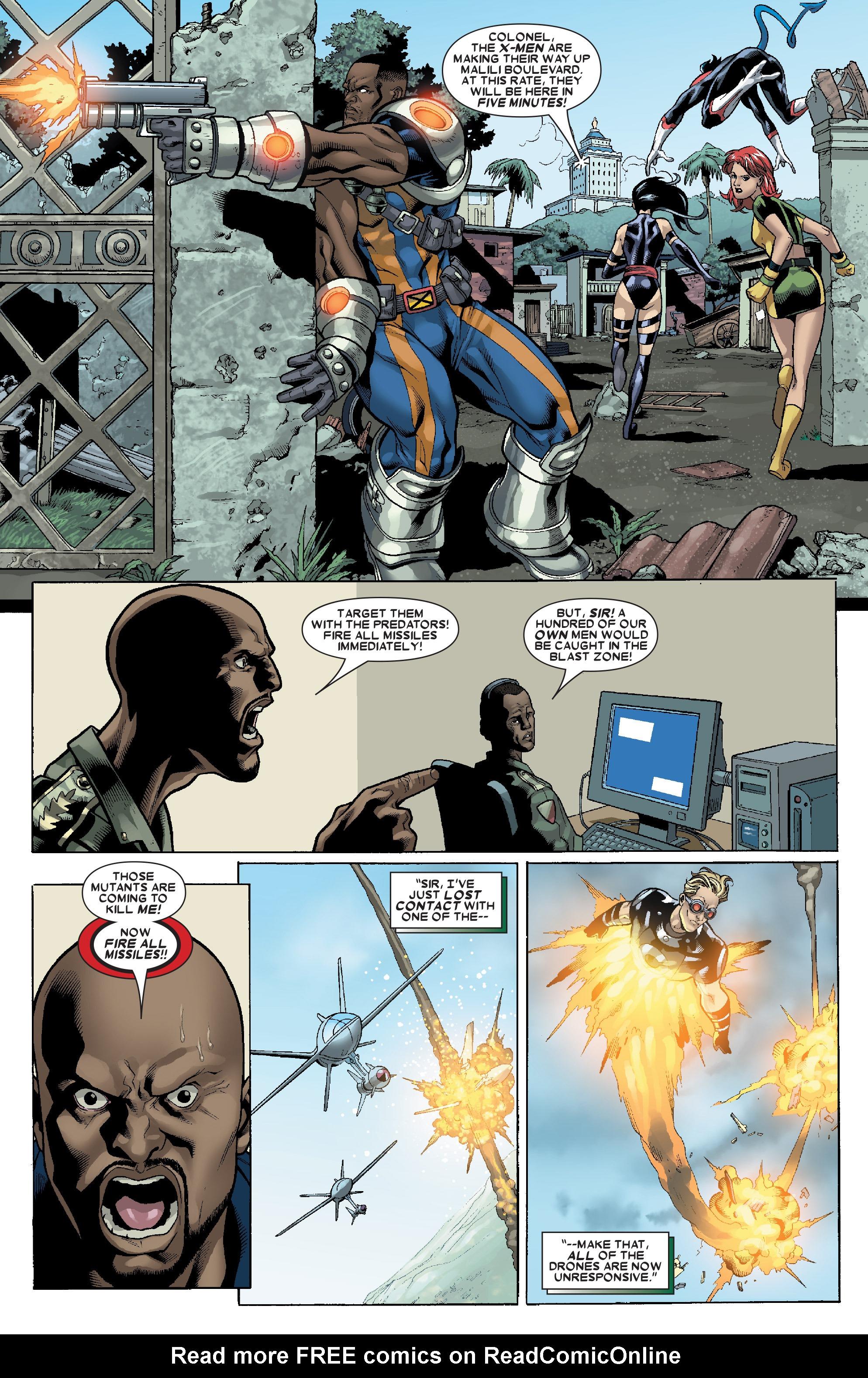 Read online Uncanny X-Men (1963) comic -  Issue # _Annual 1 (2006) - 36