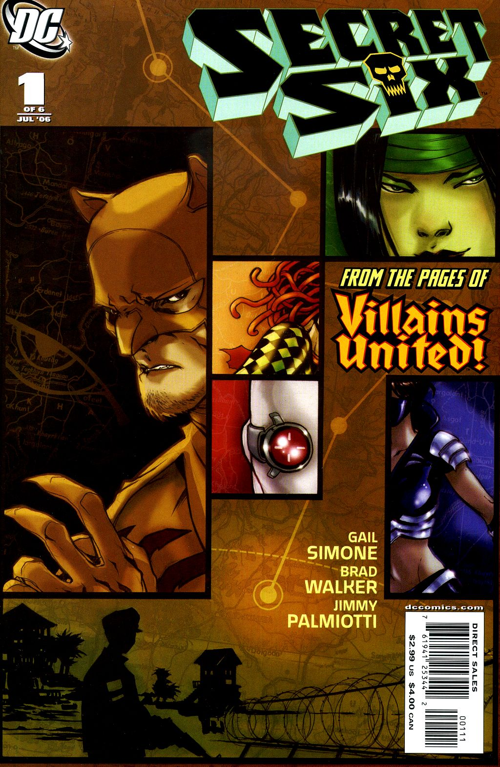 Read online Secret Six (2006) comic -  Issue #1 - 1