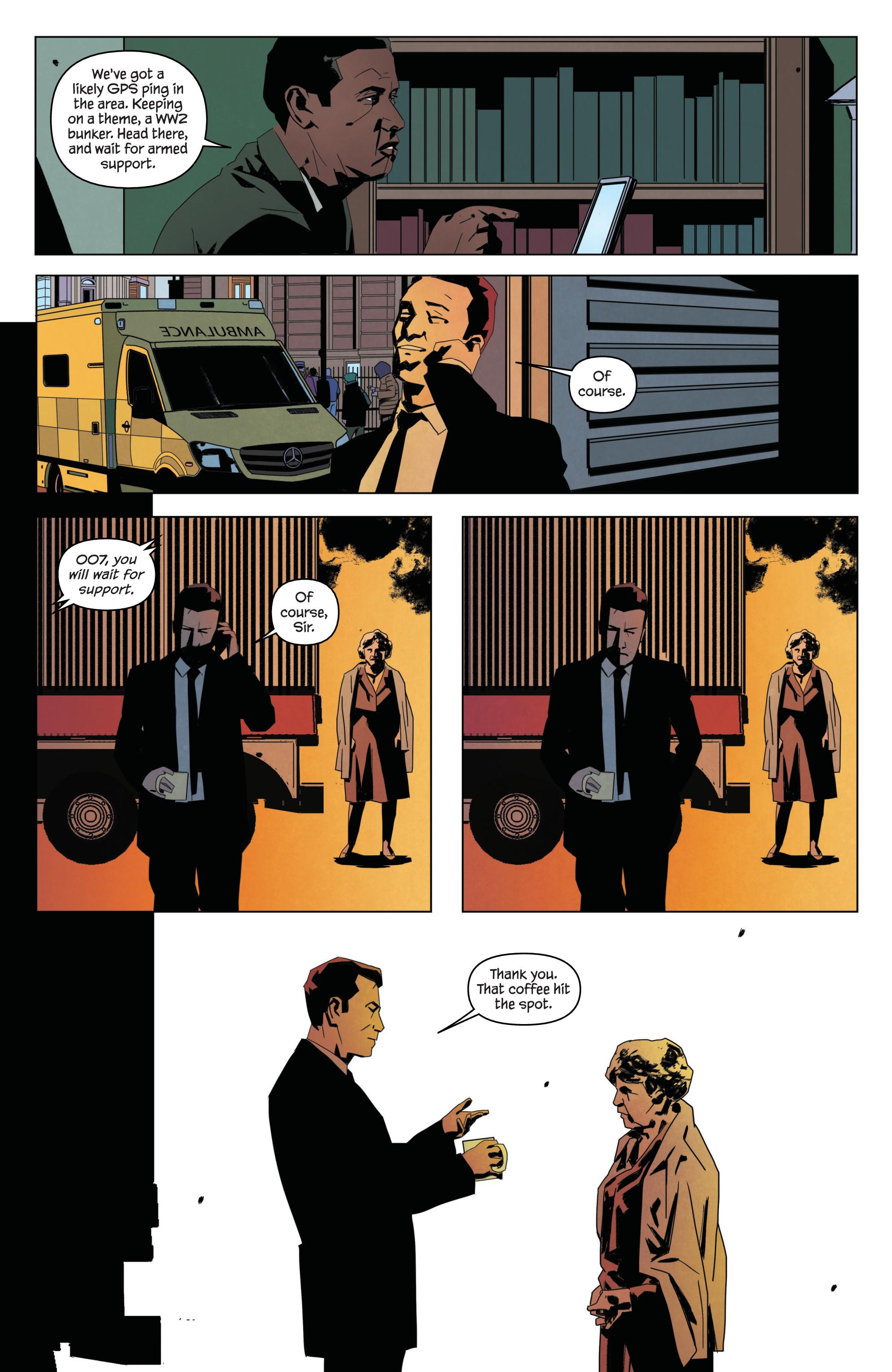 Read online James Bond: Service comic -  Issue # Full - 18