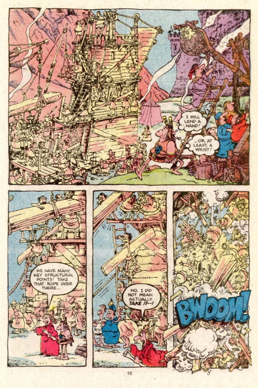 Read online Sergio Aragonés Groo the Wanderer comic -  Issue #19 - 15
