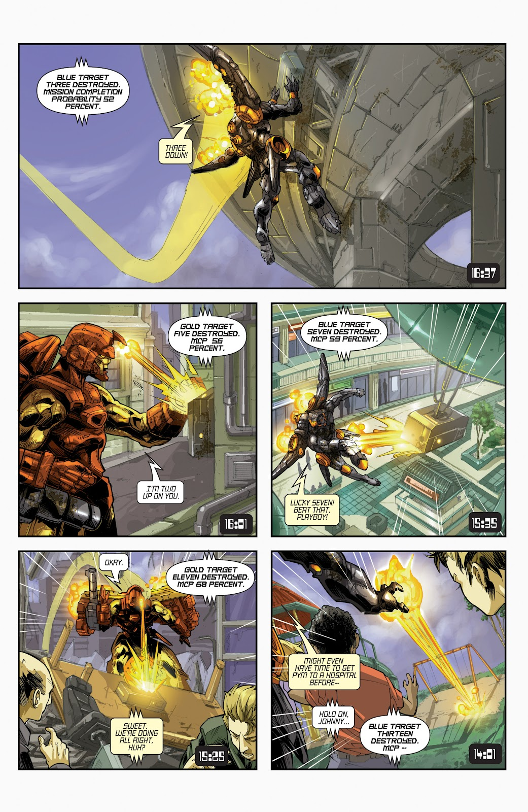 Iron Man: House of M Issue #3 #3 - English 7
