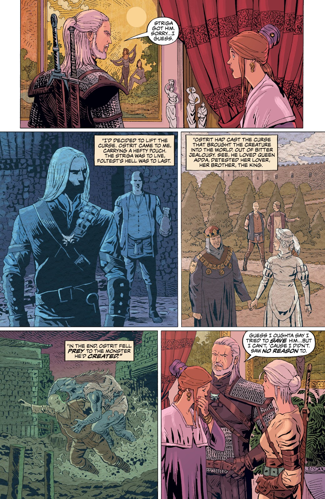Read online The Witcher Omnibus comic -  Issue # TPB (Part 4) - 52