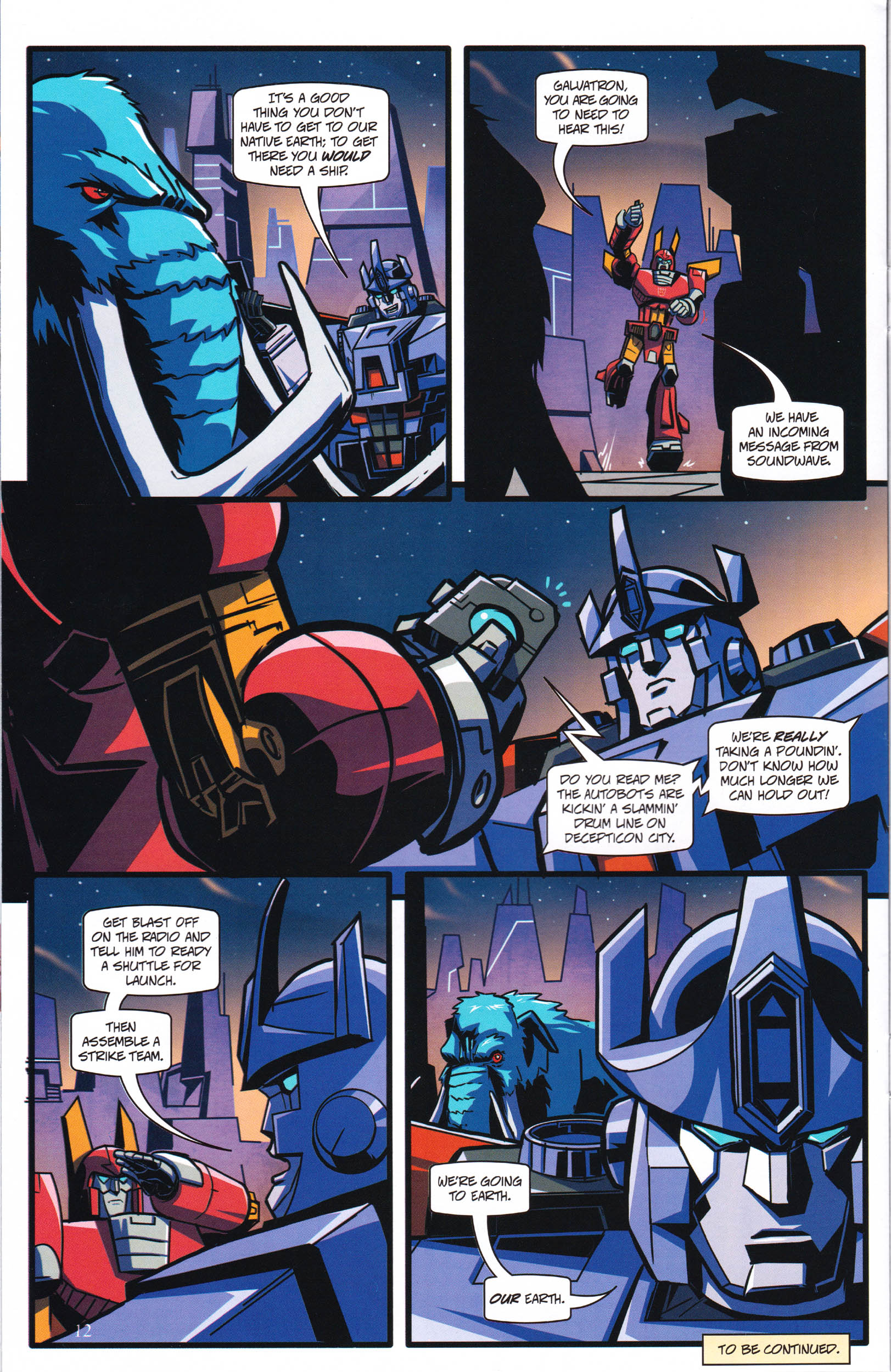 Read online Transformers: Collectors' Club comic -  Issue #61 - 12