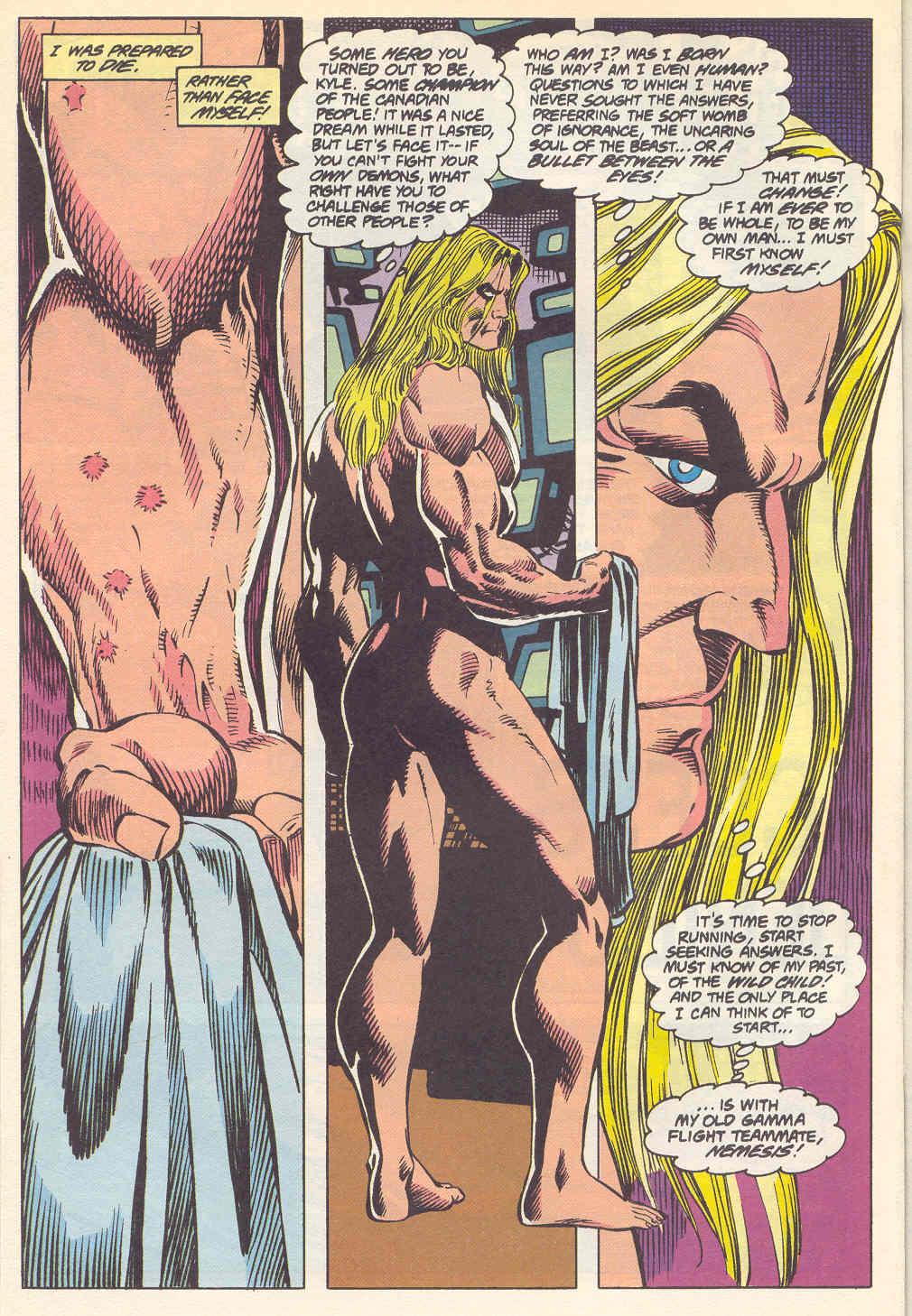 Read online Alpha Flight (1983) comic -  Issue #115 - 22