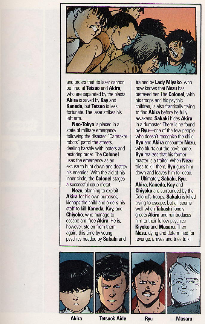 Read online Akira comic -  Issue #19 - 6