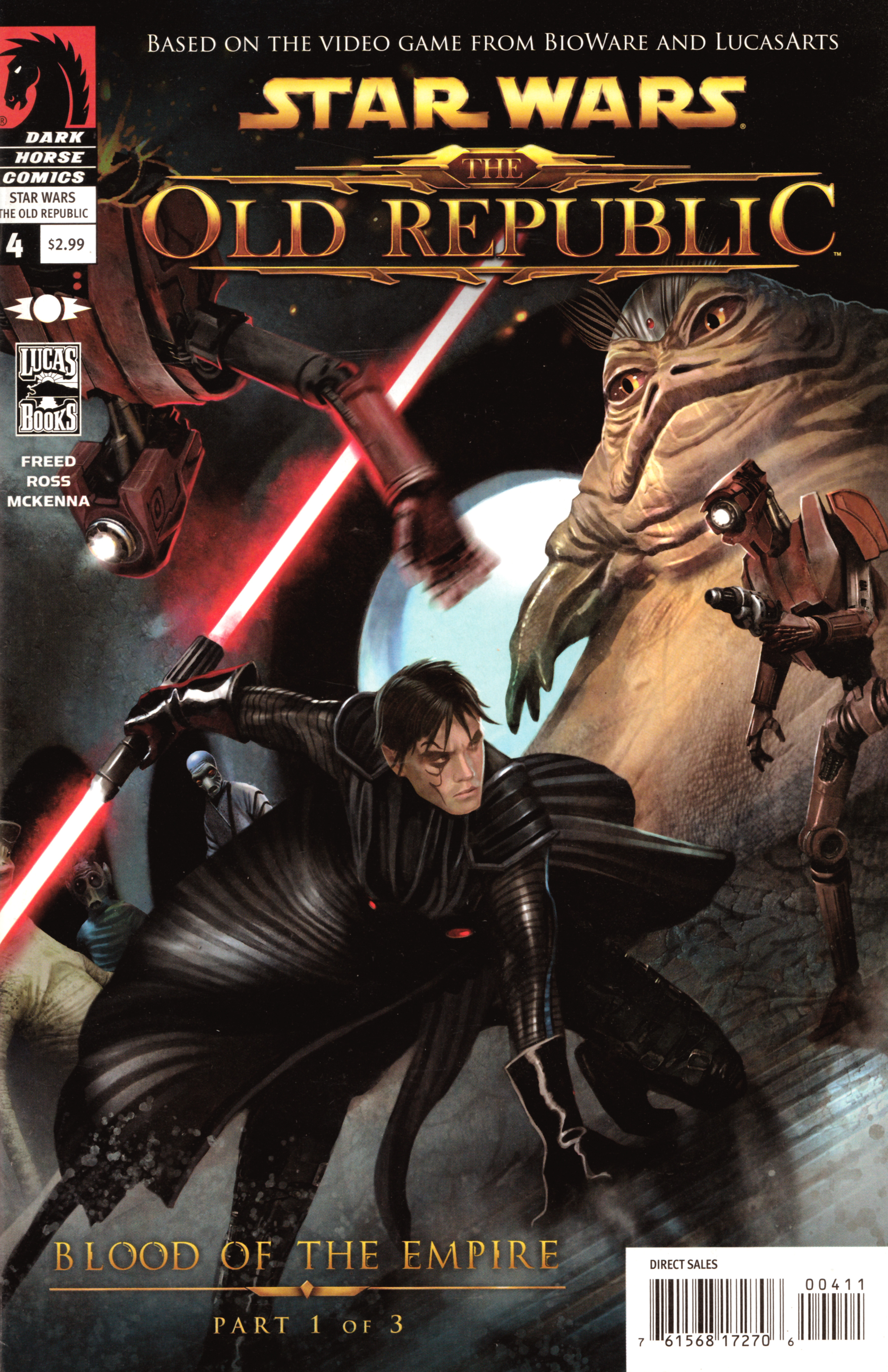 Star Wars: The Old Republic 4 Page 1