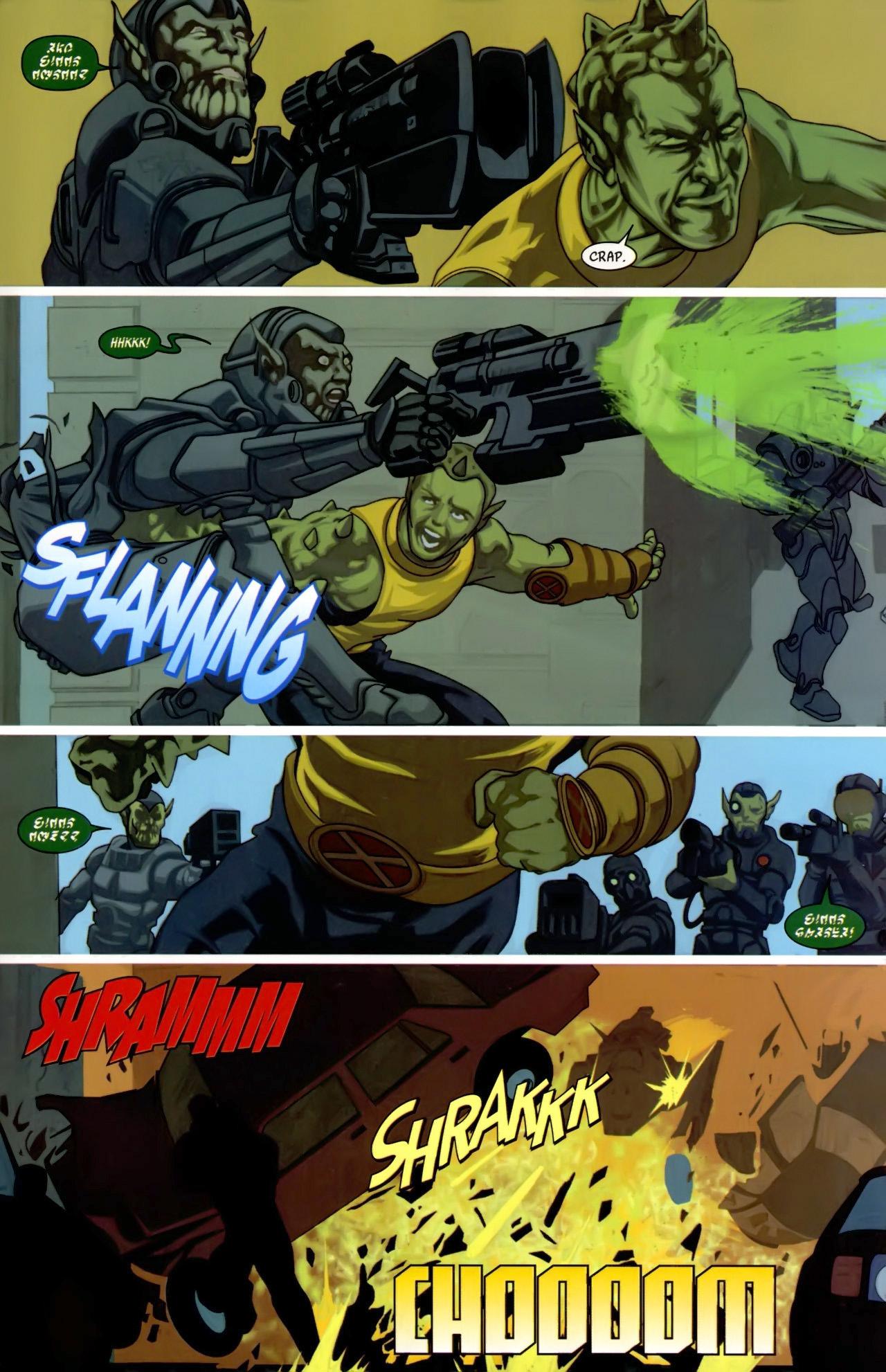 Read online Secret Invasion: X-Men comic -  Issue #3 - 15