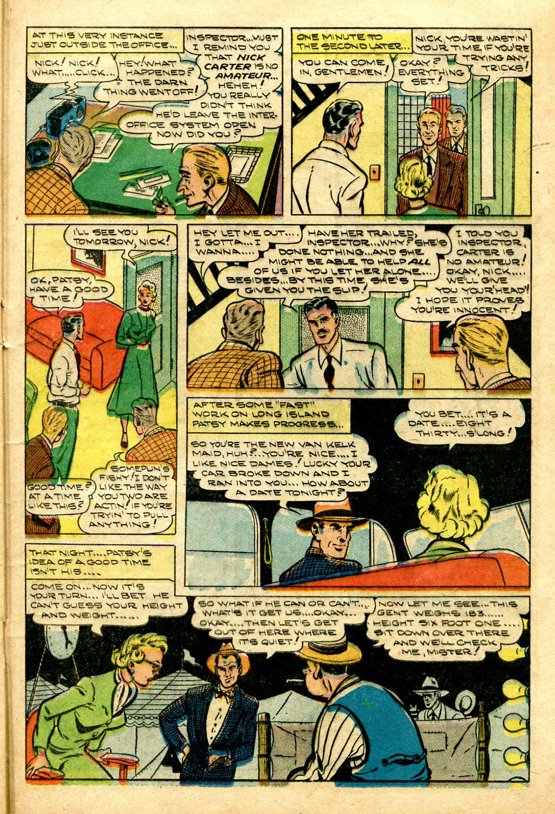 Read online Shadow Comics comic -  Issue #96 - 33