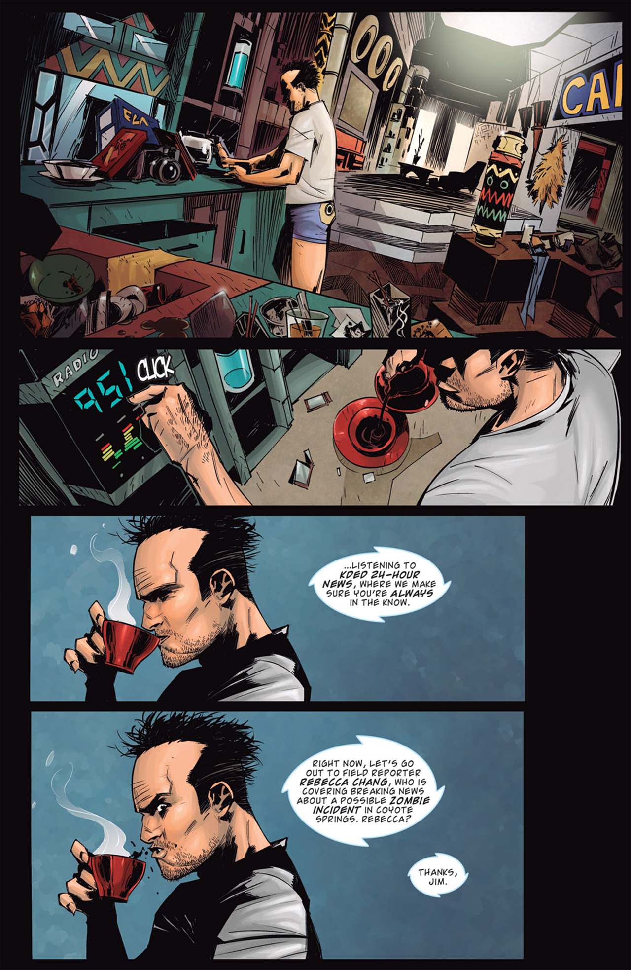 Read online Dead Rising: Road to Fortune comic -  Issue # TPB - 18