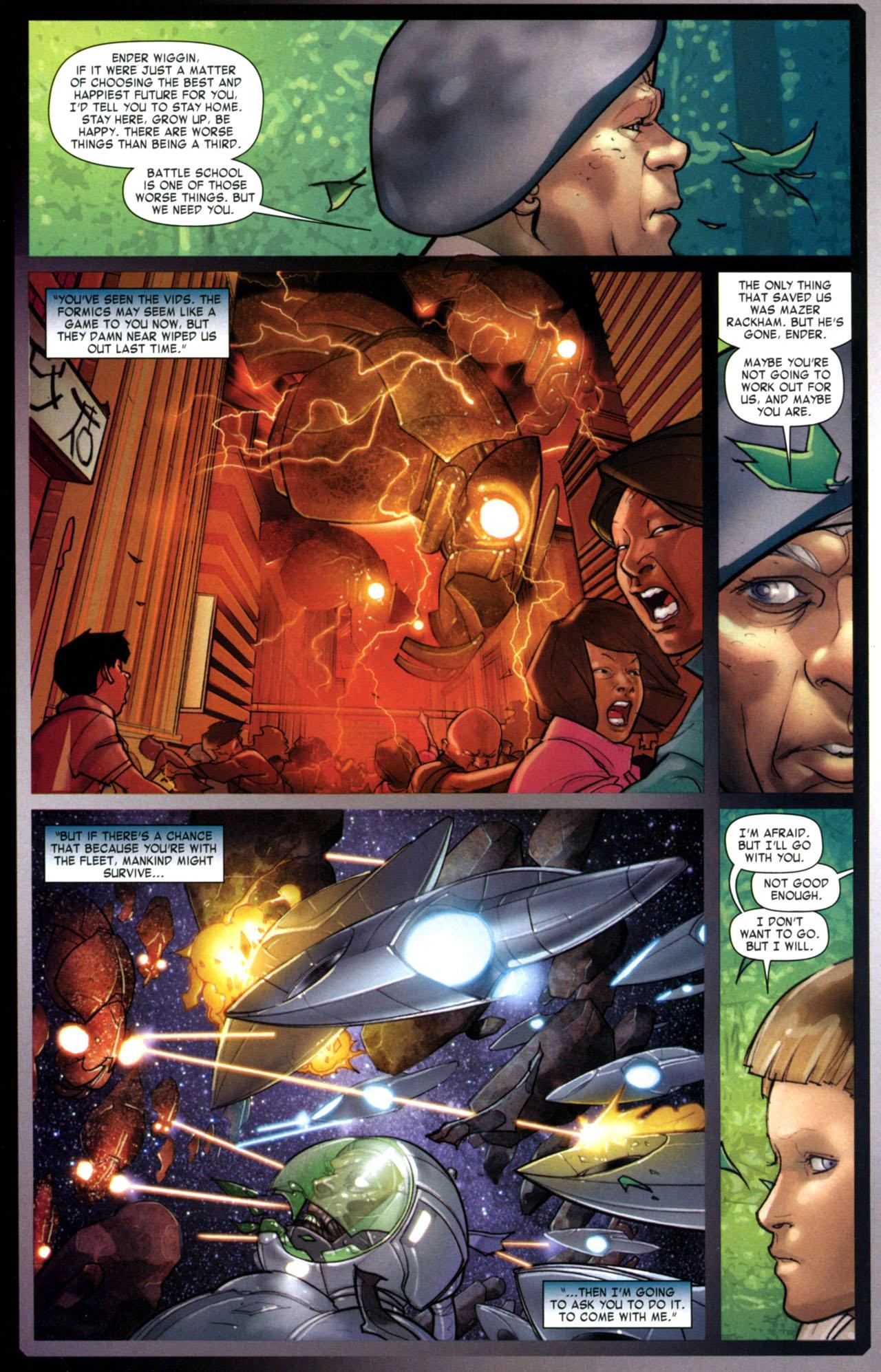 Read online Ender's Game: Battle School comic -  Issue #1 - 25