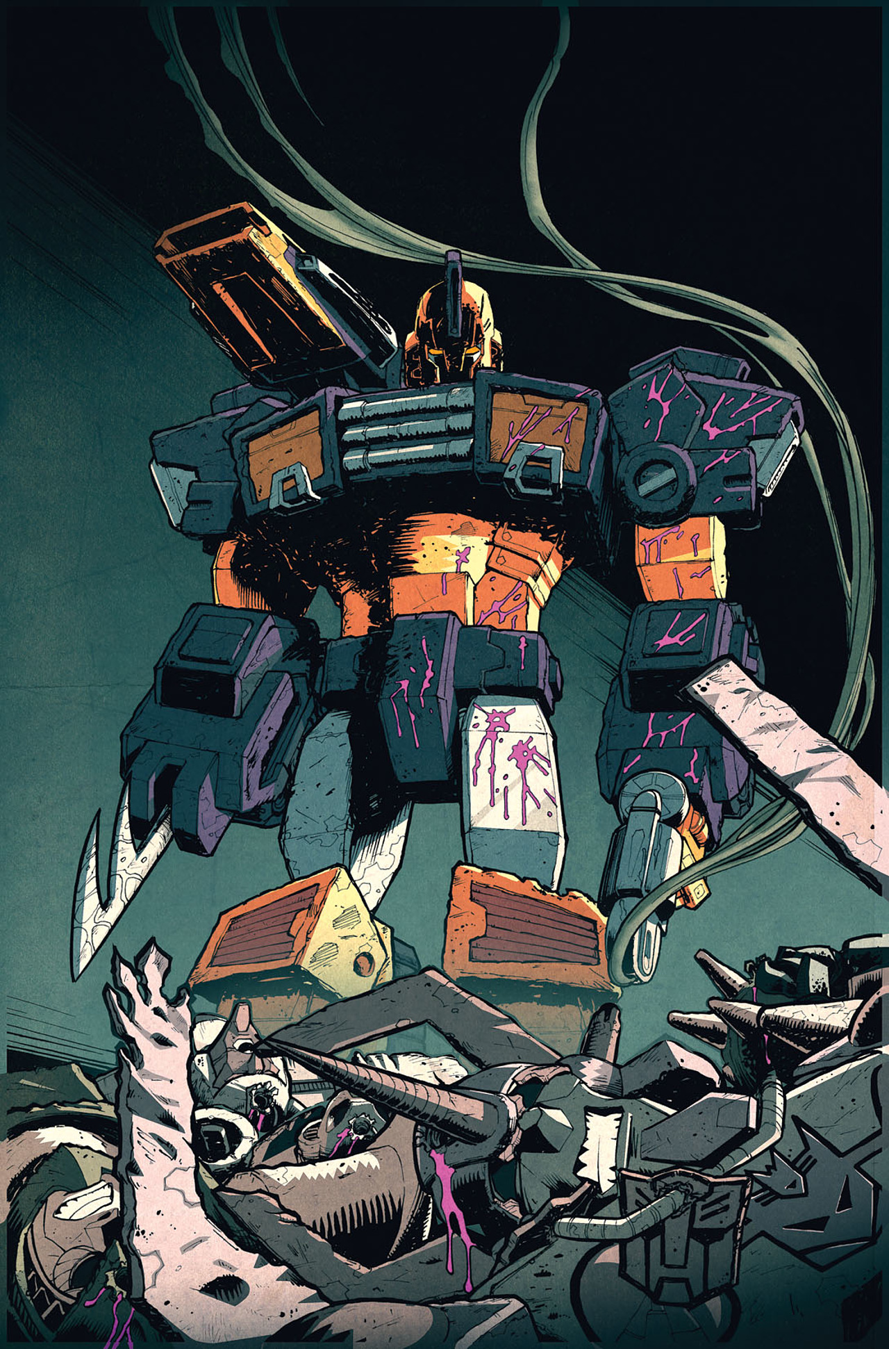 Read online Transformers: Last Stand of The Wreckers comic -  Issue #5 - 13