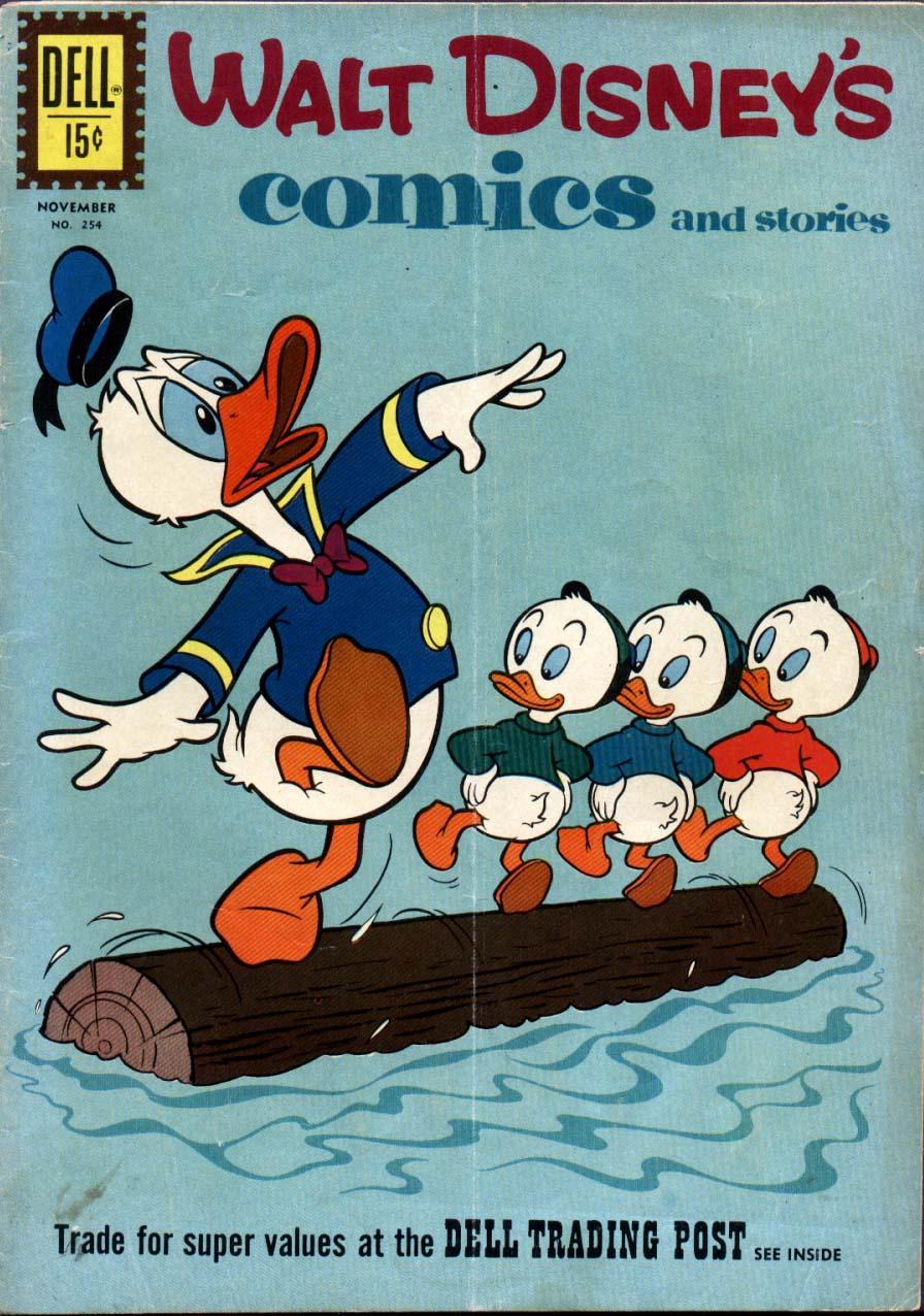 Walt Disneys Comics and Stories 254 Page 1