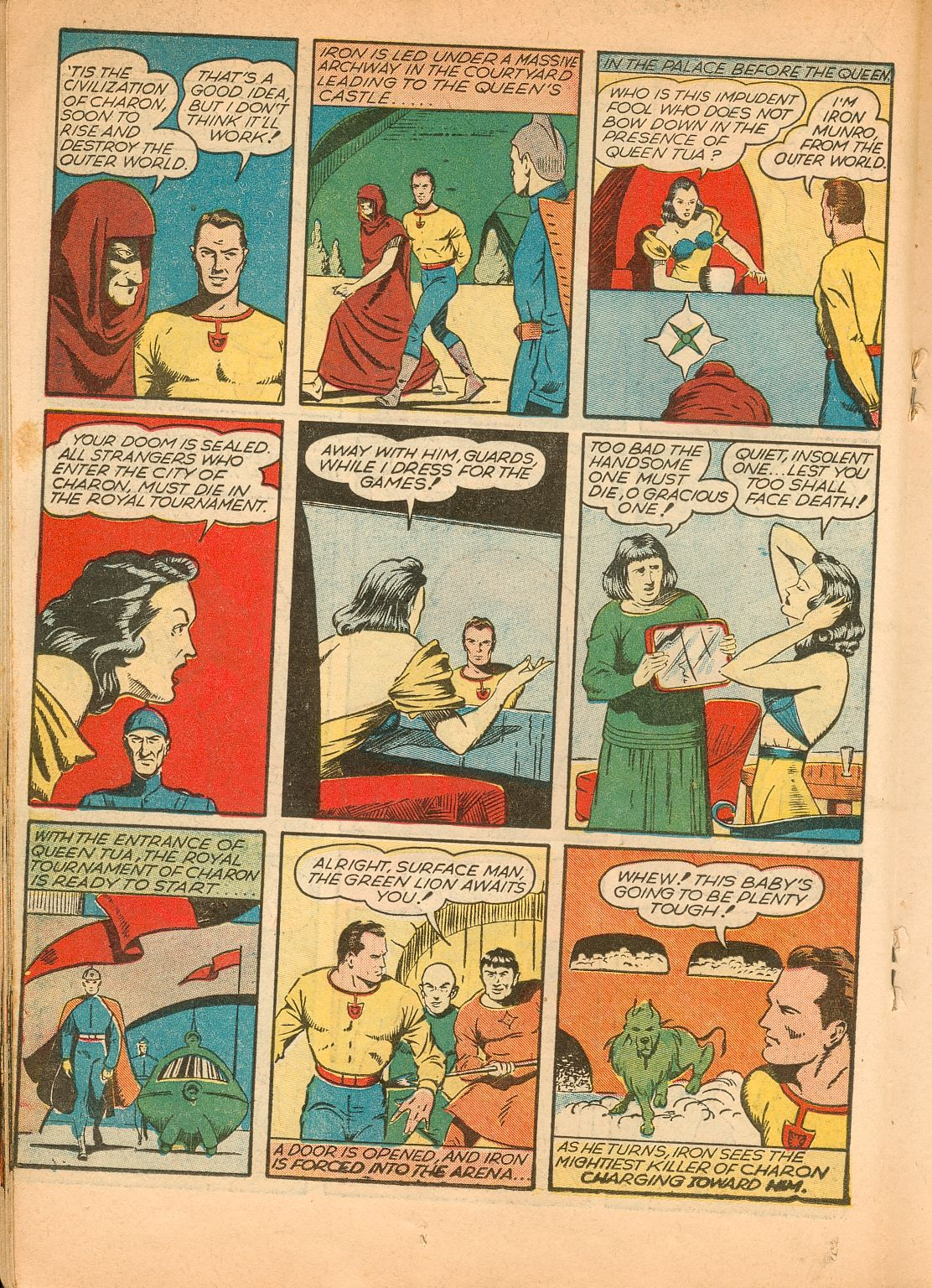 Read online Shadow Comics comic -  Issue #11 - 34