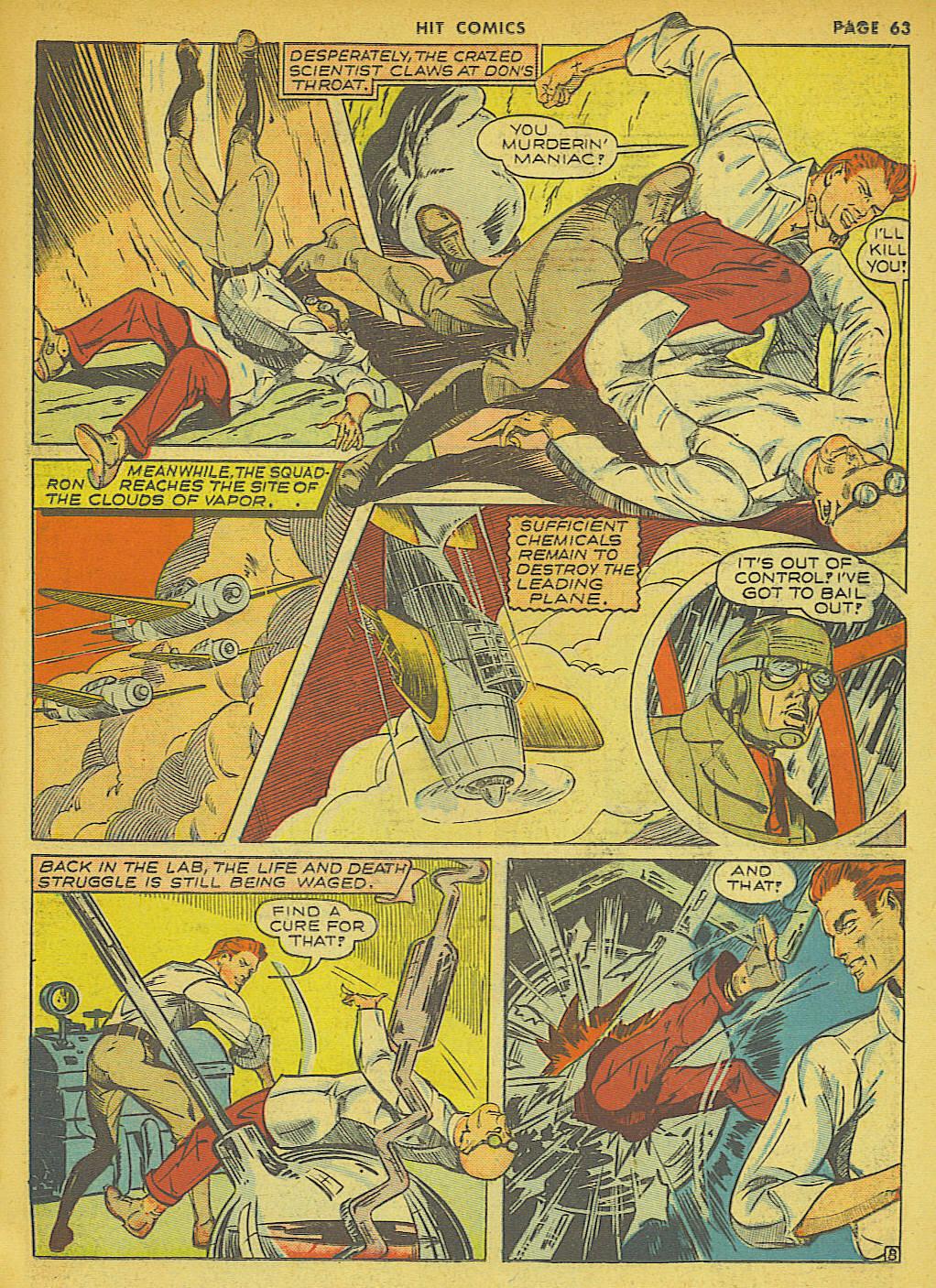 Read online Hit Comics comic -  Issue #21 - 65