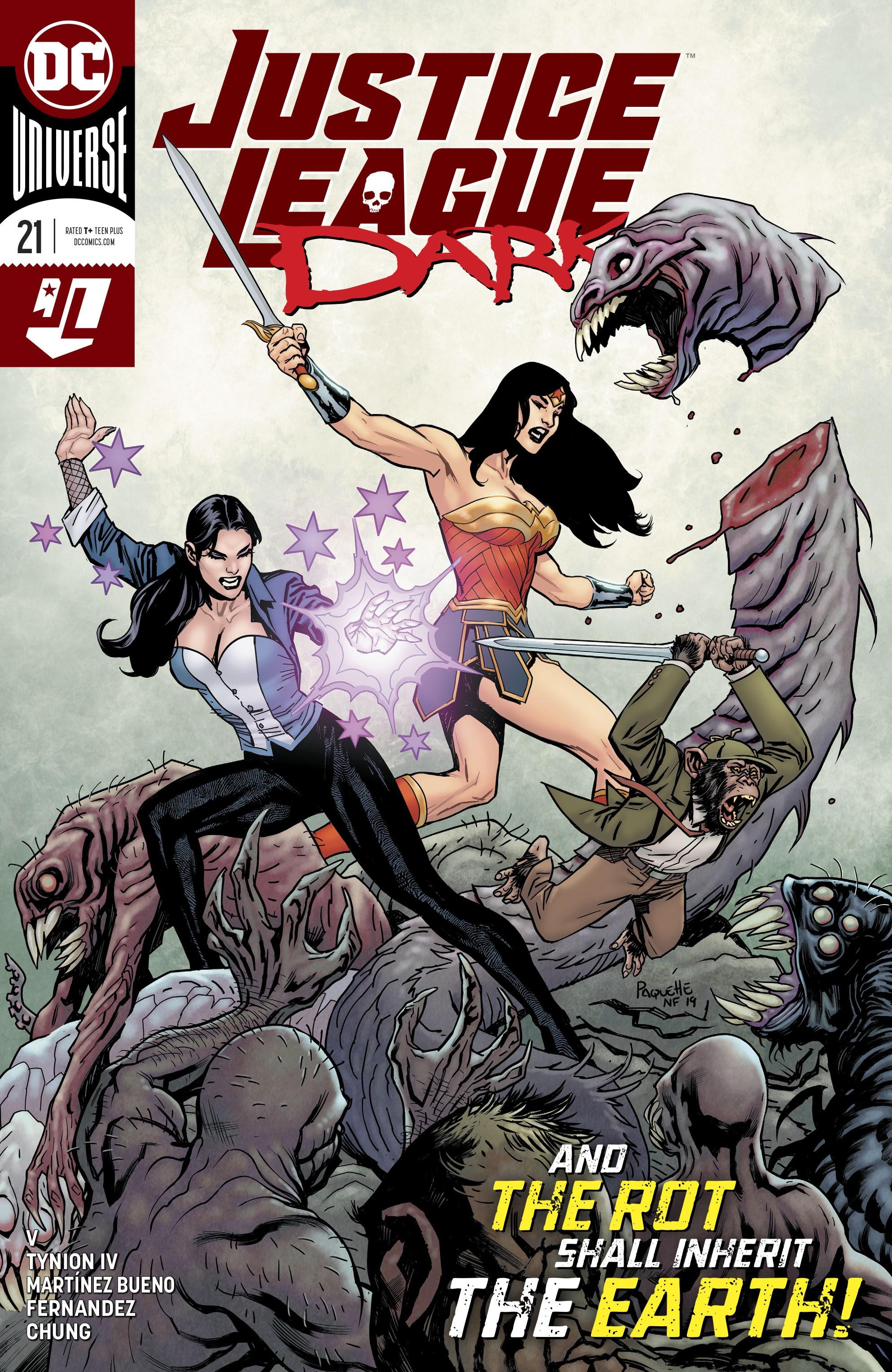 Justice League Dark (2018) 21 Page 1