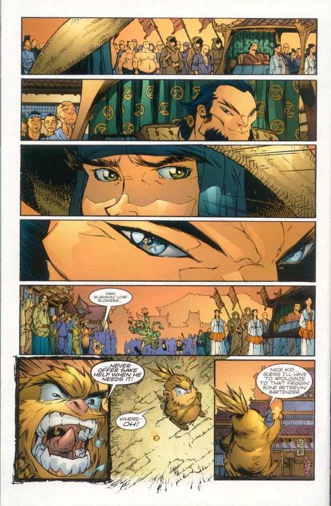 Read online Ninja Boy comic -  Issue #1 - 27