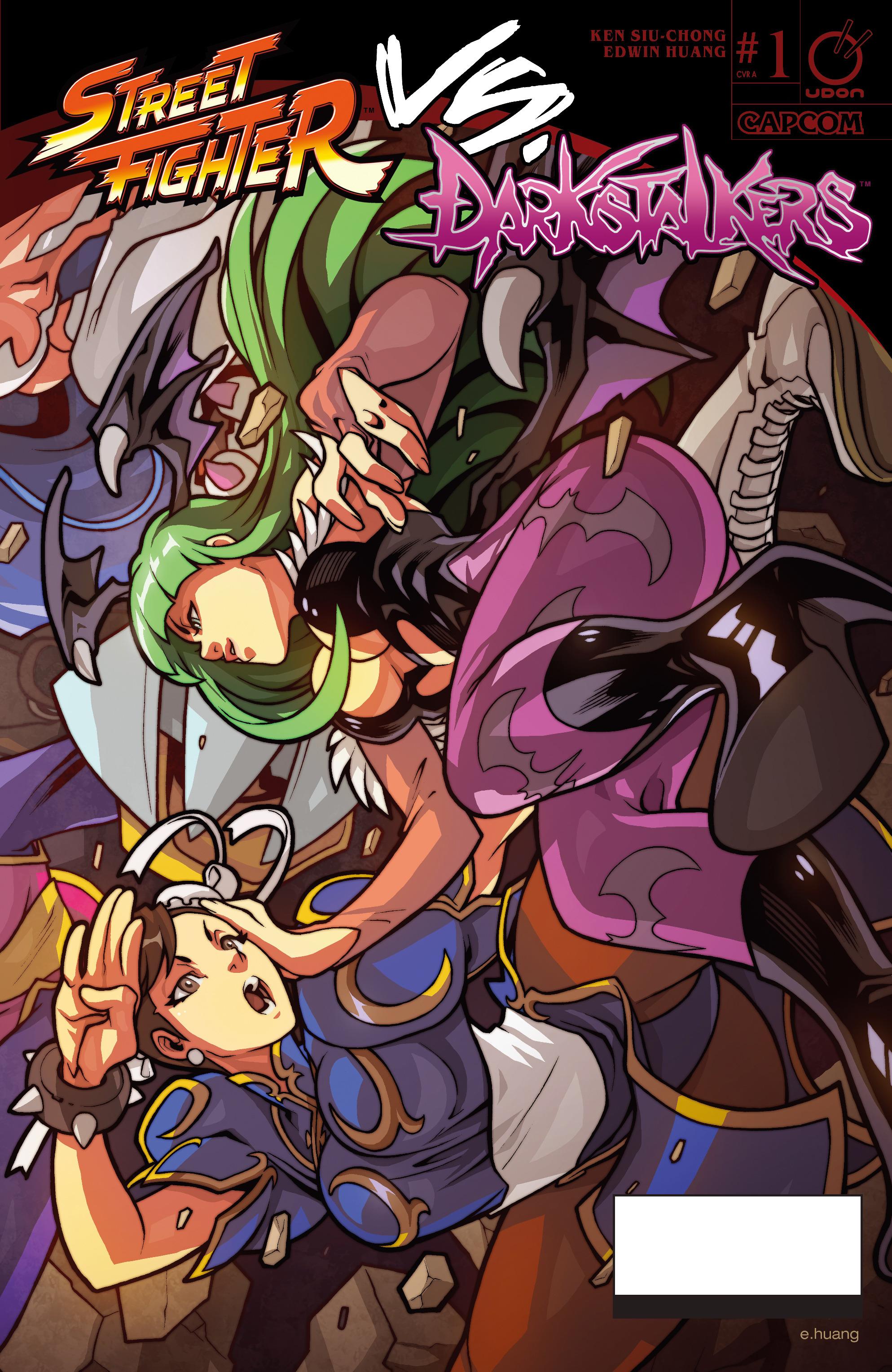 Read online Street Fighter VS Darkstalkers comic -  Issue #1 - 1