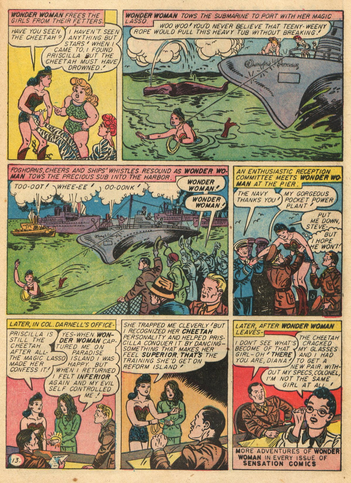 Read online Sensation (Mystery) Comics comic -  Issue #22 - 15