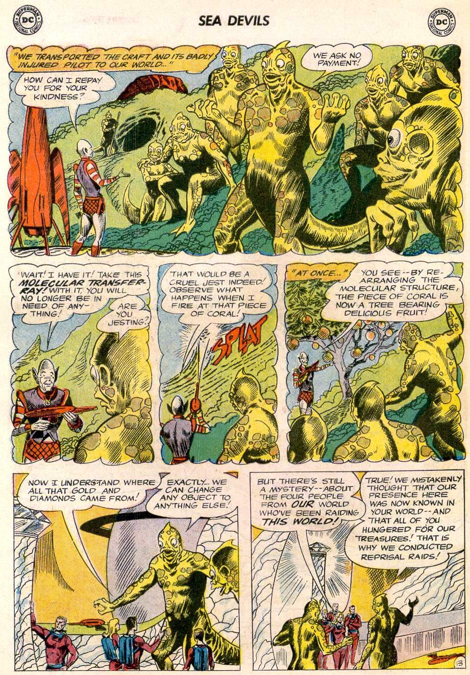 Read online Sea Devils comic -  Issue #20 - 18