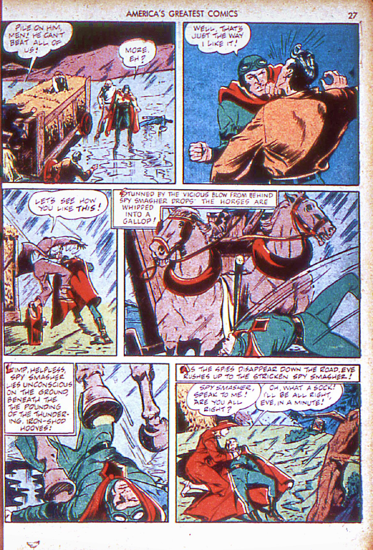 Read online America's Greatest Comics comic -  Issue #6 - 28
