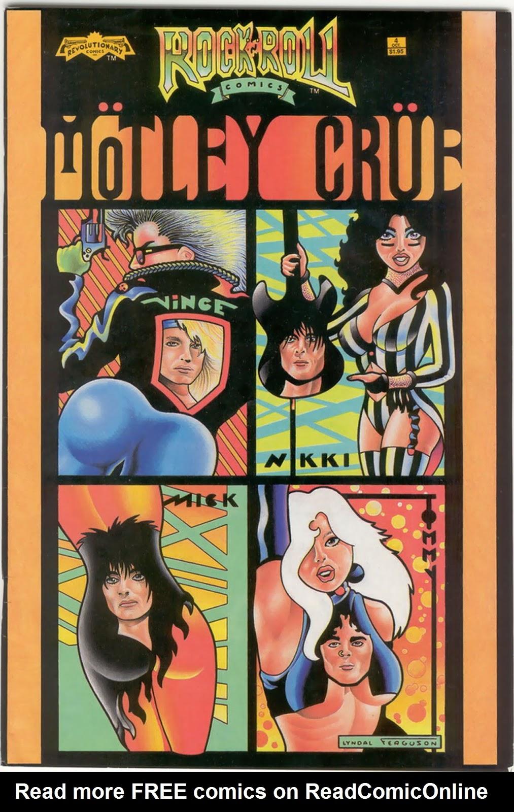 Rock N Roll Comics 4 Page 1