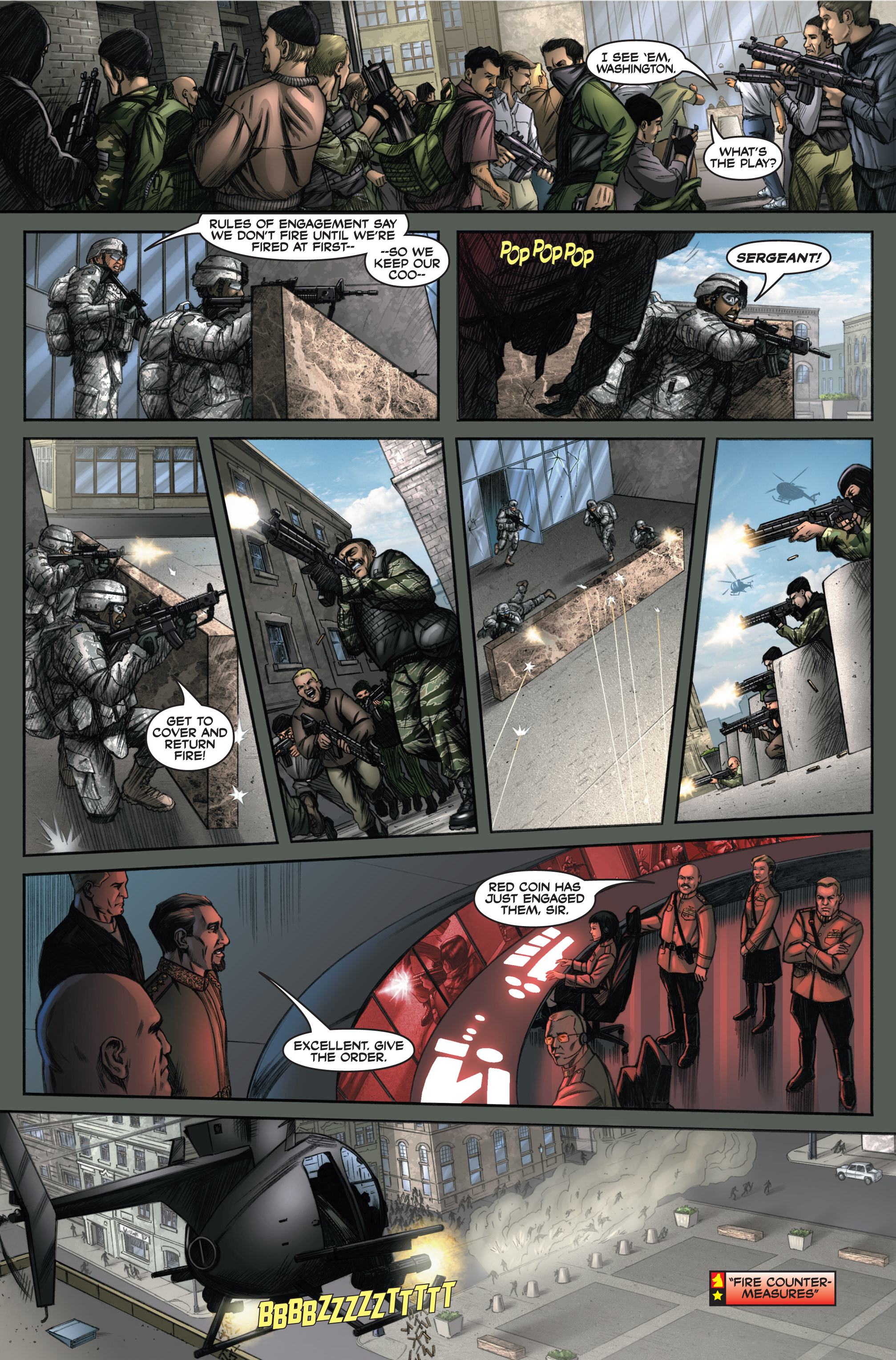 Read online America's Army comic -  Issue #6 - 16
