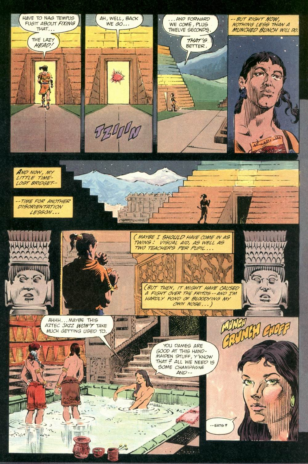 Read online Aztec Ace comic -  Issue #1 - 5