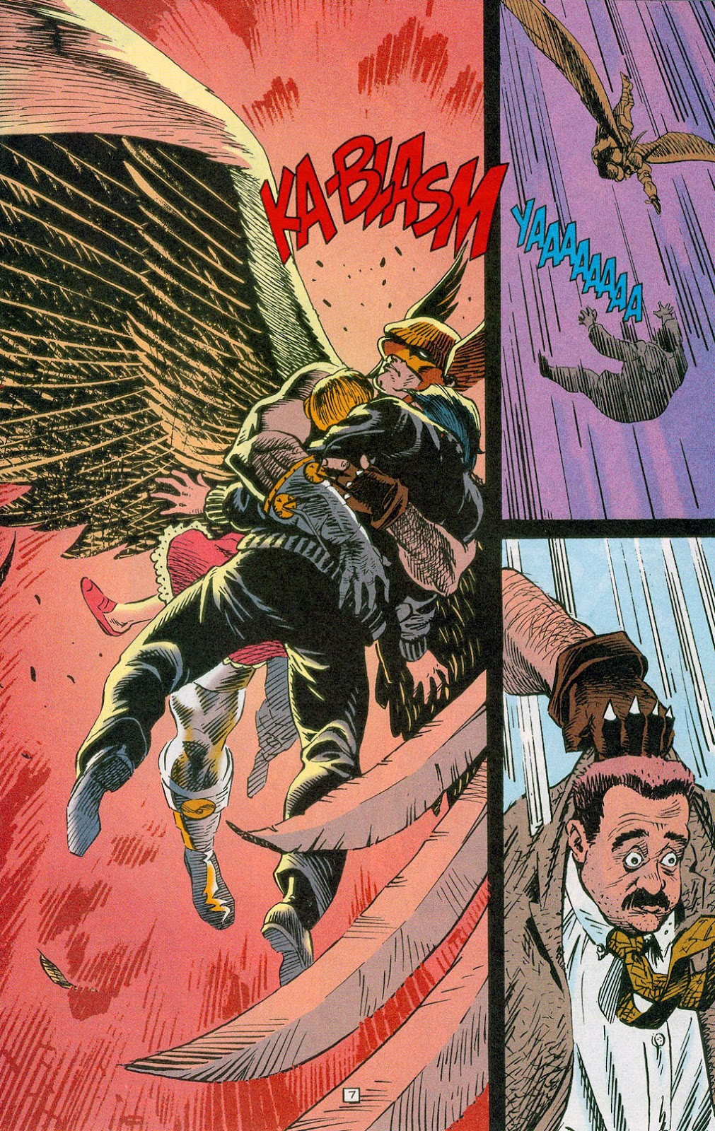 Hawkman (1993) Issue #24 #27 - English 9