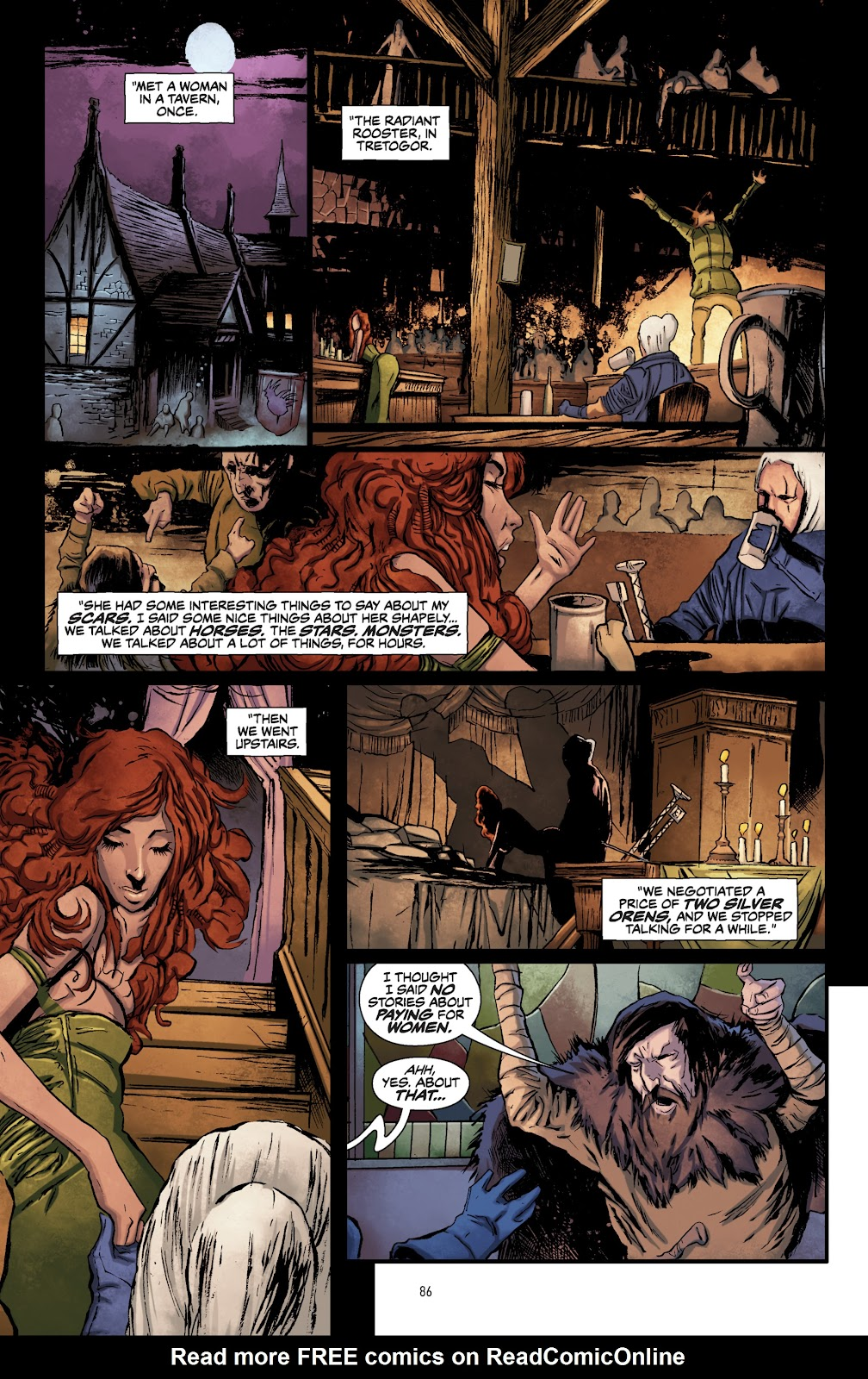 Read online The Witcher Omnibus comic -  Issue # TPB (Part 1) - 84