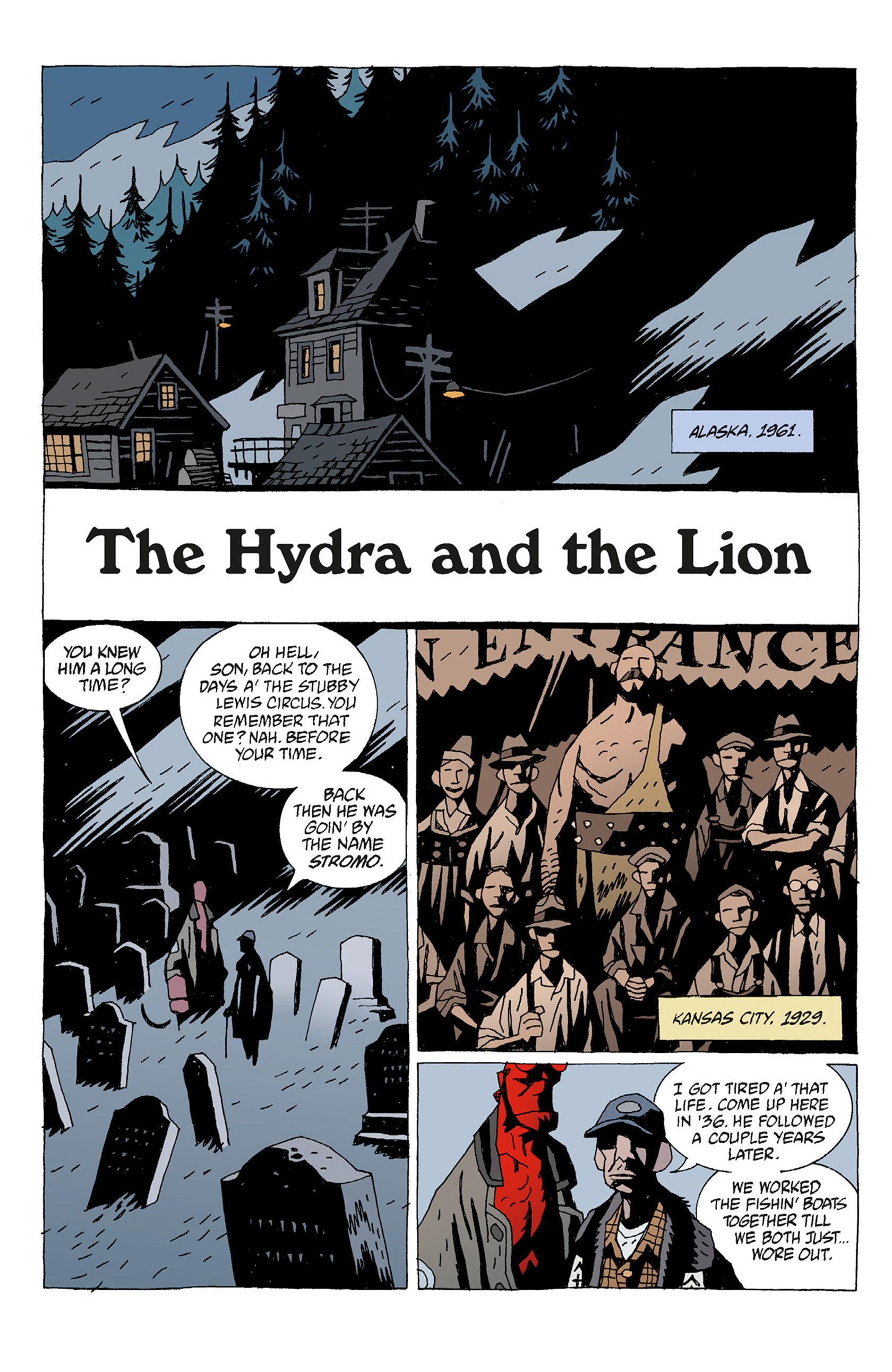Read online Hellboy: The Troll Witch and Others comic -  Issue # TPB - 16