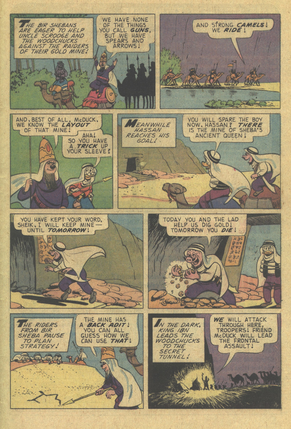 Read online Uncle Scrooge (1953) comic -  Issue #121 - 29