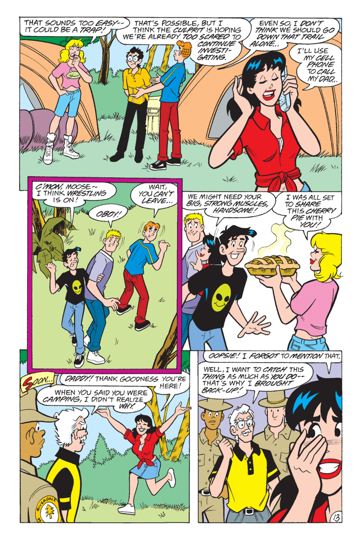 Read online Archie's Weird Mysteries comic -  Issue #23 - 15