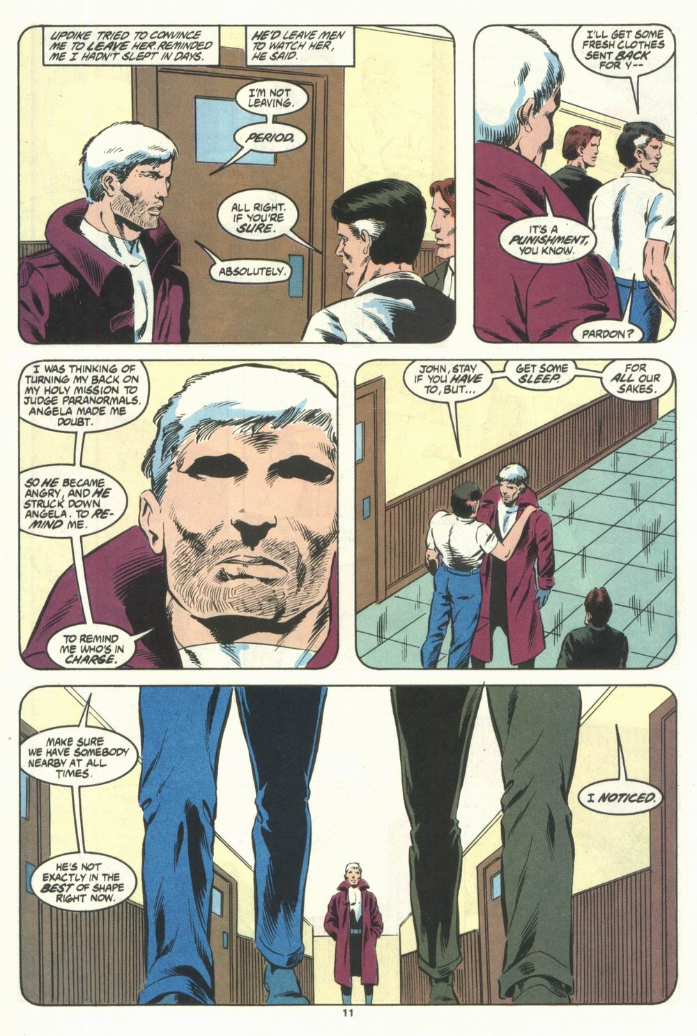 Read online Justice (1986) comic -  Issue #28 - 13