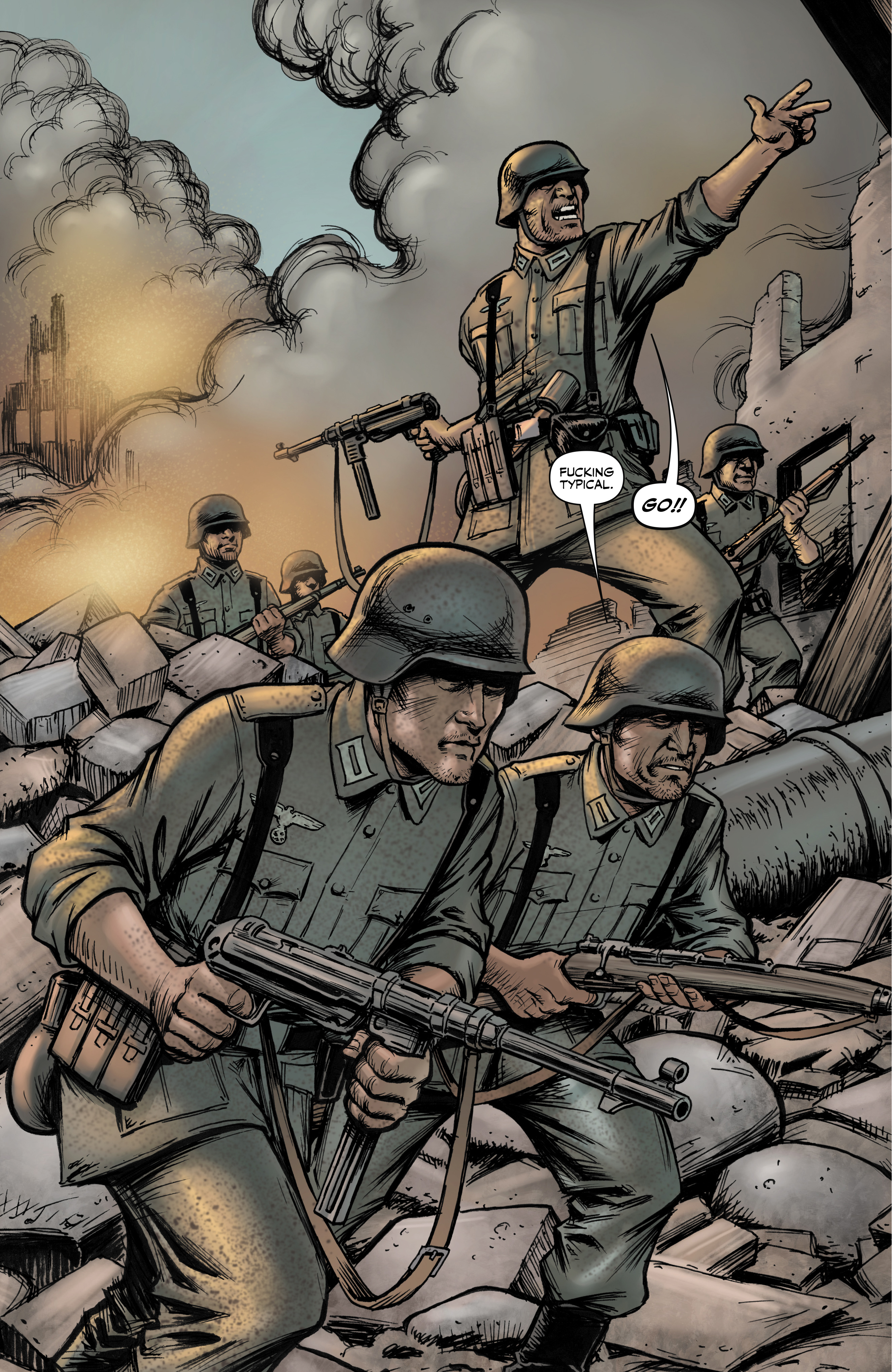 Read online Battlefields: Night Witches comic -  Issue # TPB - 7