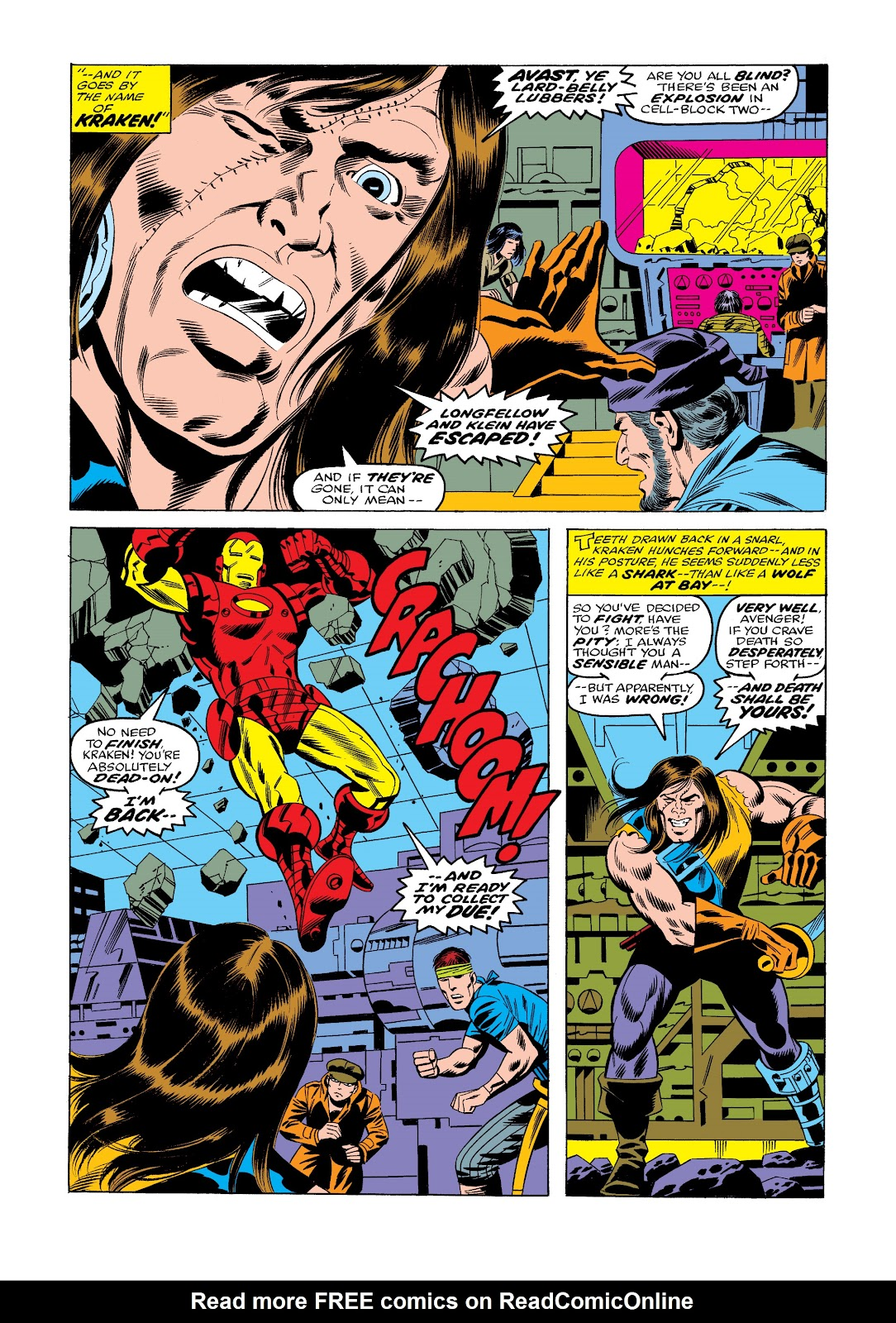 Read online Marvel Masterworks: The Invincible Iron Man comic -  Issue # TPB 11 (Part 3) - 79
