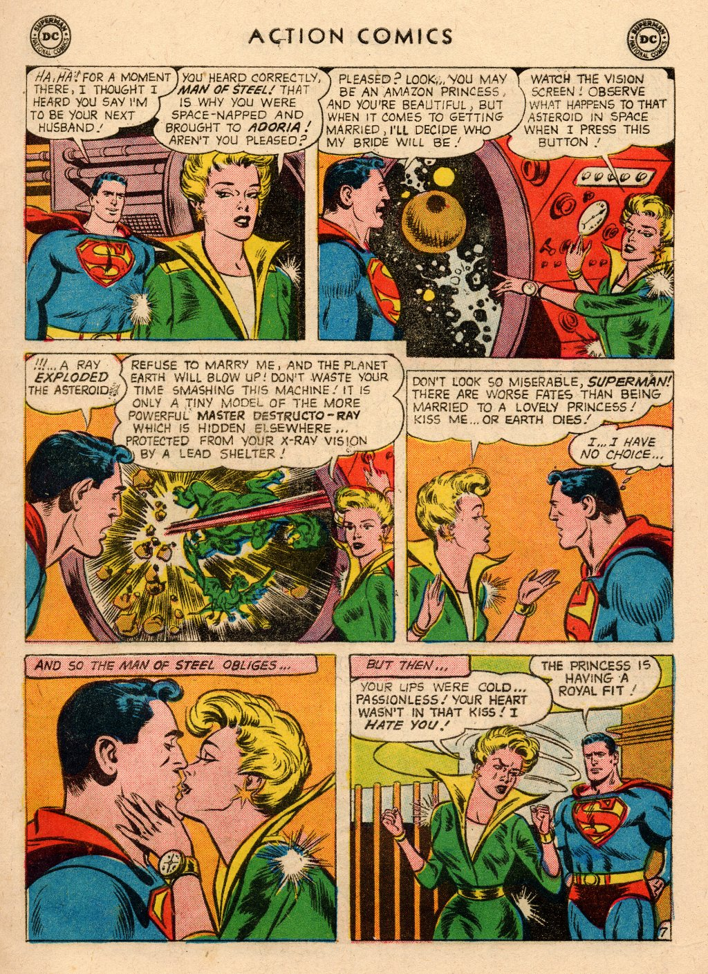Read online Action Comics (1938) comic -  Issue #266 - 9