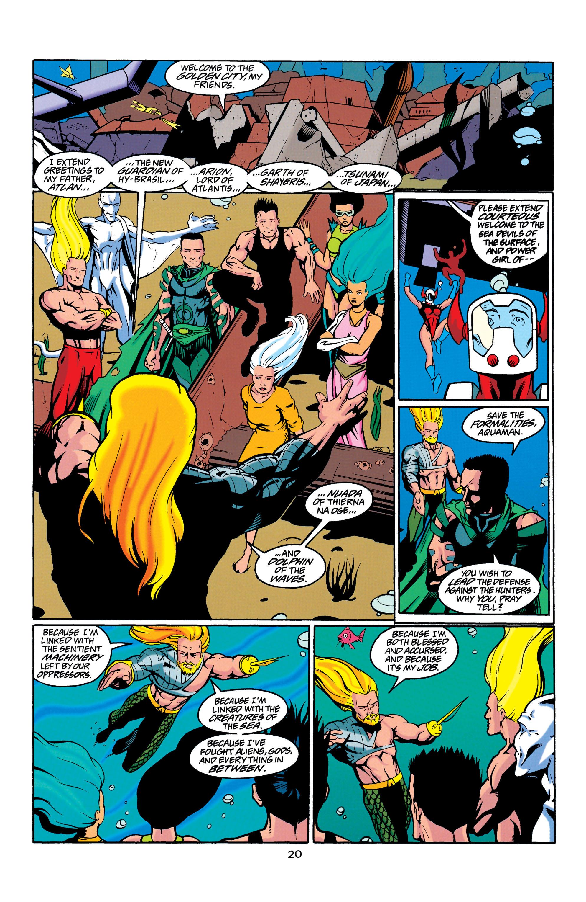 Read online Aquaman (1994) comic -  Issue #23 - 20