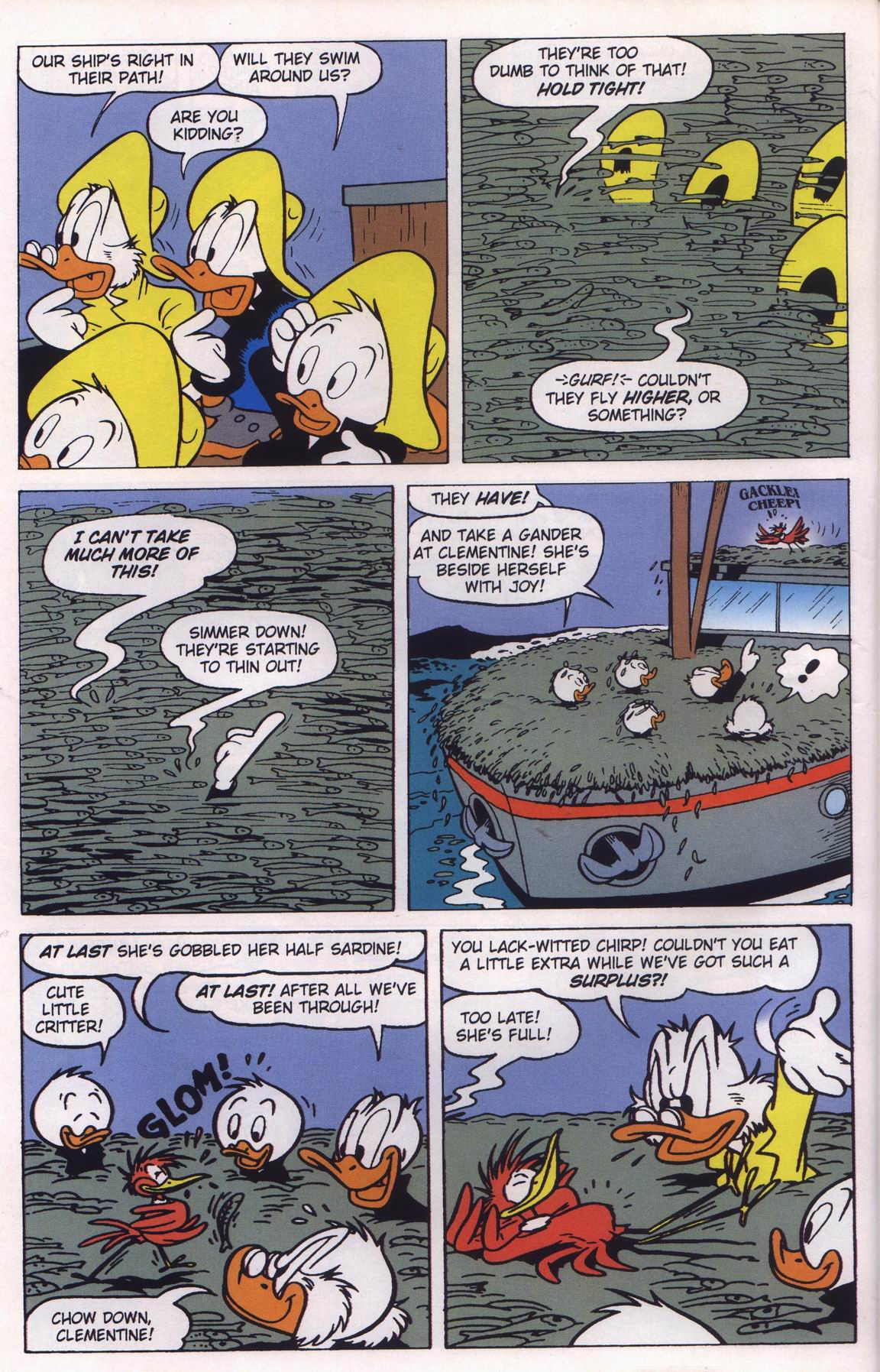 Read online Uncle Scrooge (1953) comic -  Issue #315 - 32