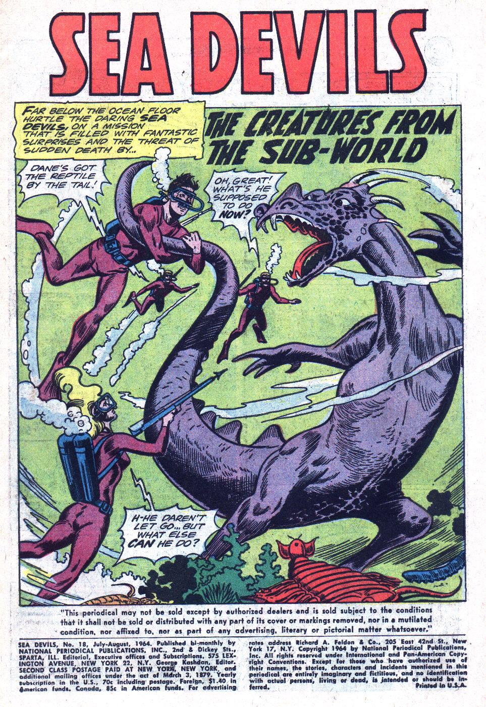 Read online Sea Devils comic -  Issue #18 - 3