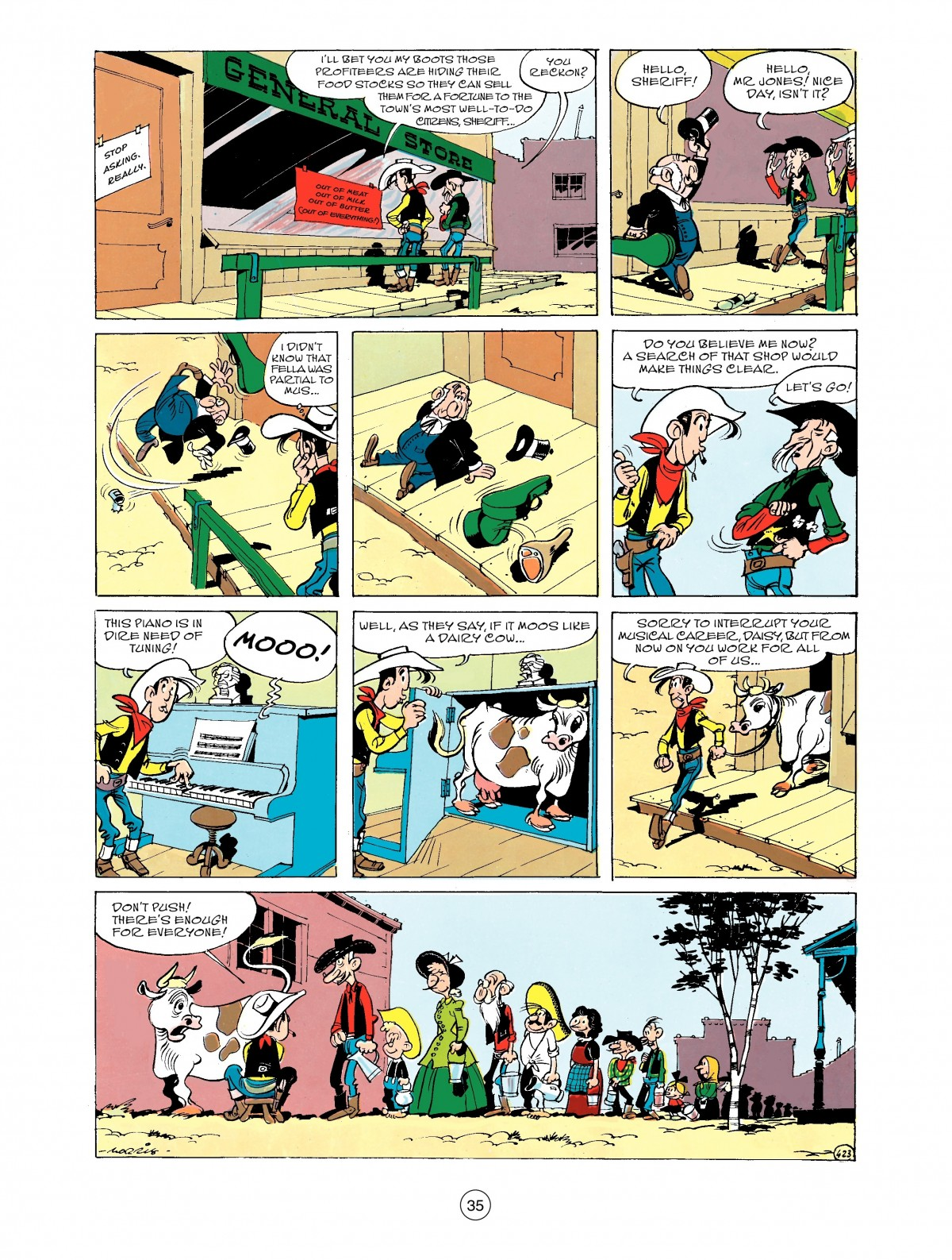 Read online A Lucky Luke Adventure comic -  Issue #43 - 35