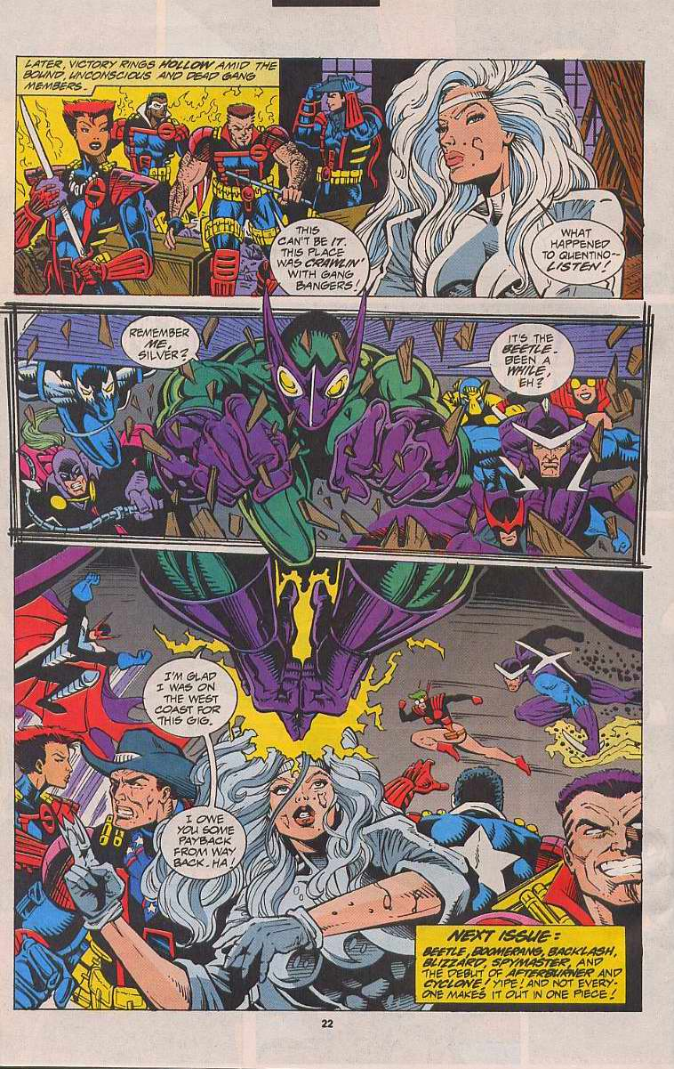 Read online Silver Sable and the Wild Pack comic -  Issue #21 - 18