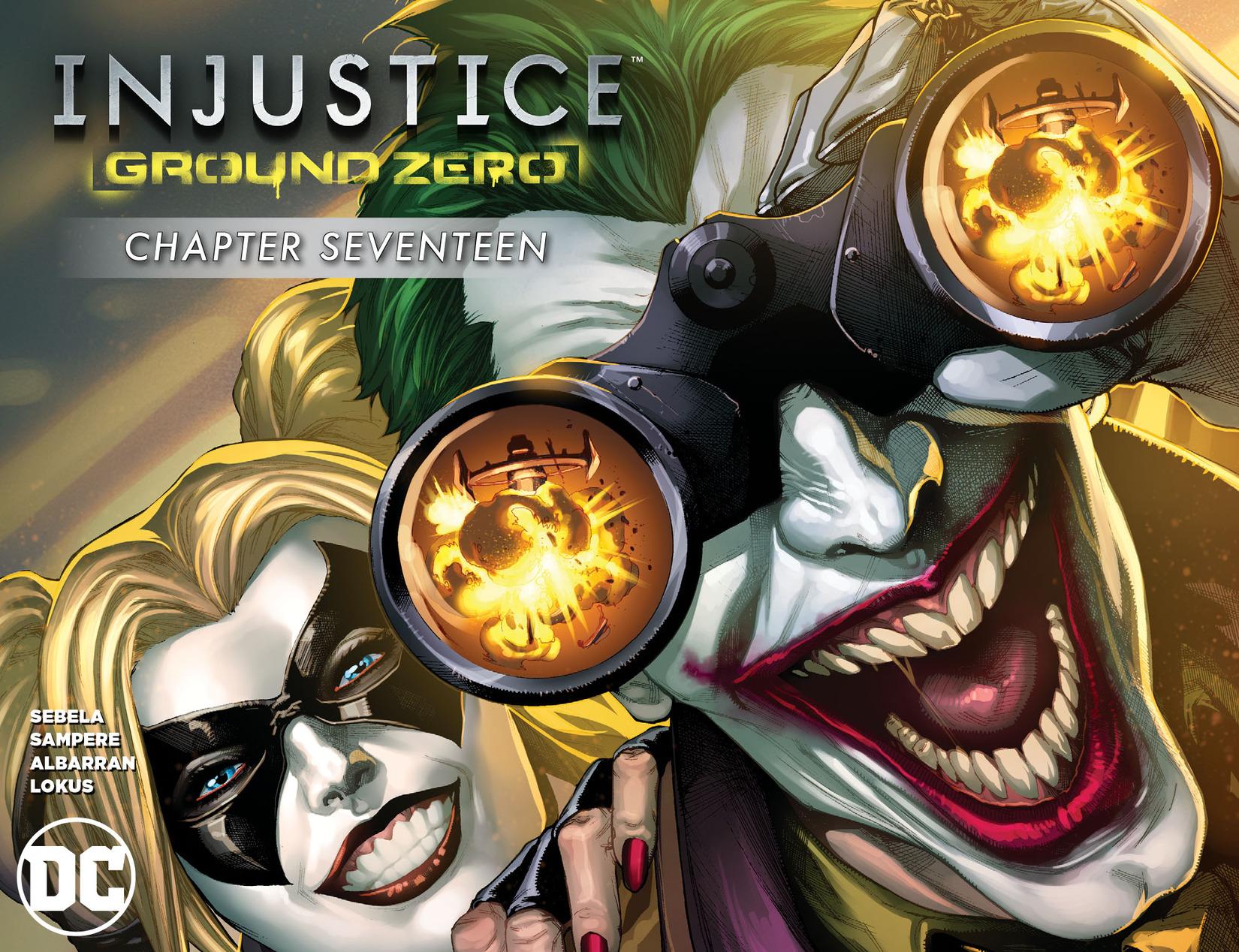 Read online Injustice: Ground Zero comic -  Issue #17 - 1