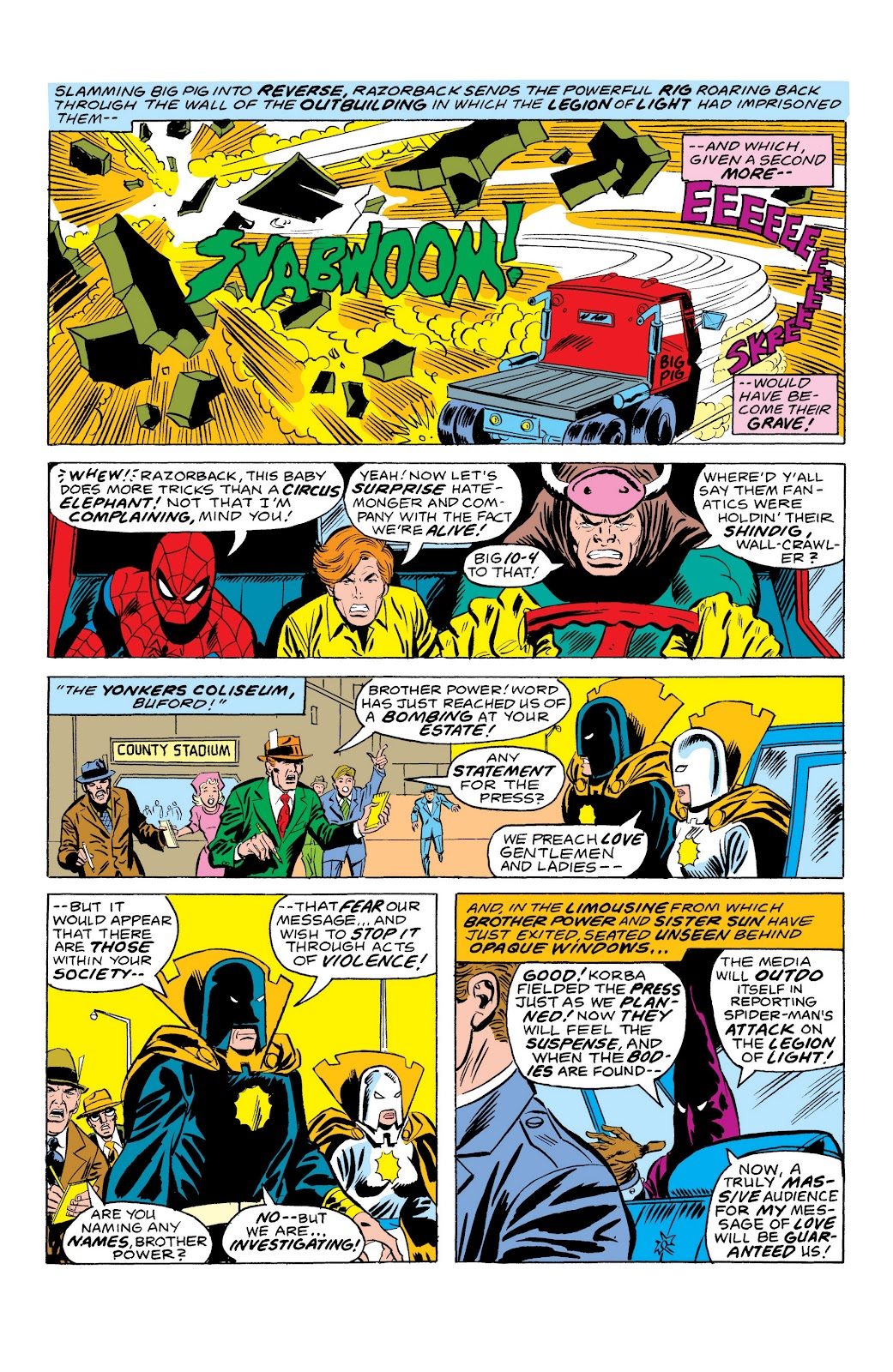 Read online Marvel Masterworks: The Spectacular Spider-Man comic -  Issue # TPB (Part 3) - 33