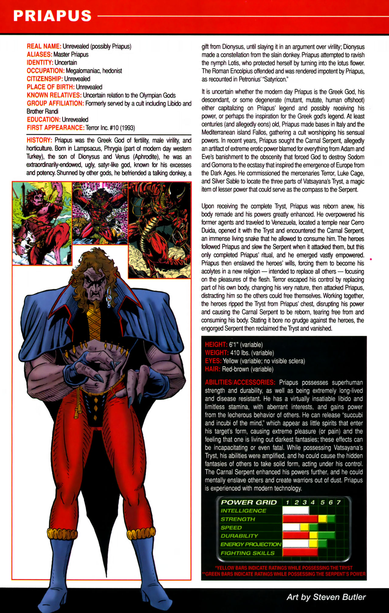 Read online All-New Official Handbook of the Marvel Universe A to Z comic -  Issue #8 - 54