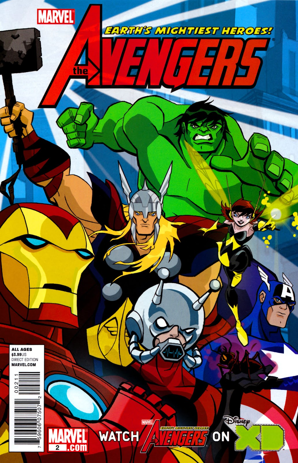 Avengers: Earth's Mightiest Heroes (2011) Issue #2 #2 - English 1