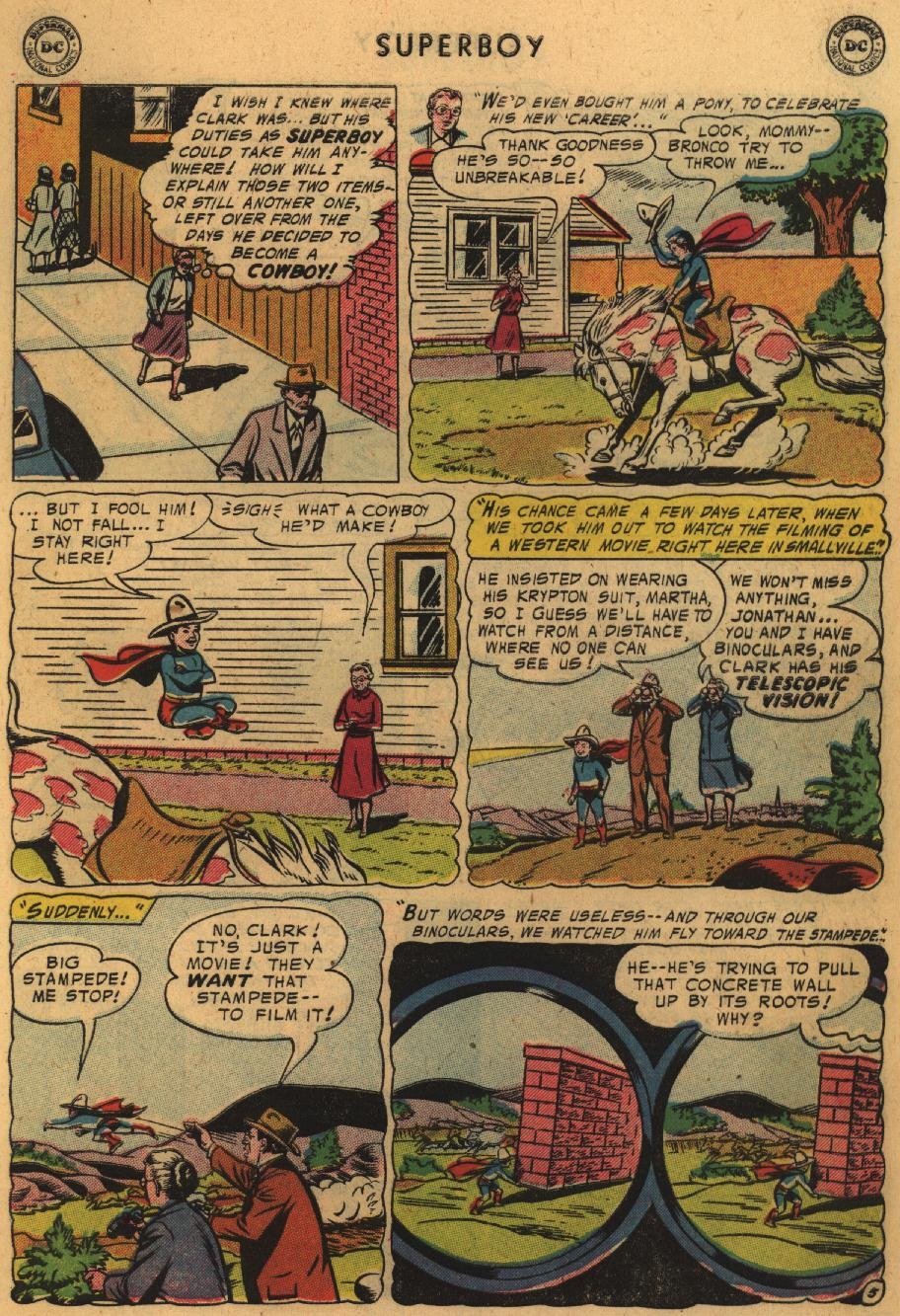 Superboy (1949) issue 51 - Page 6