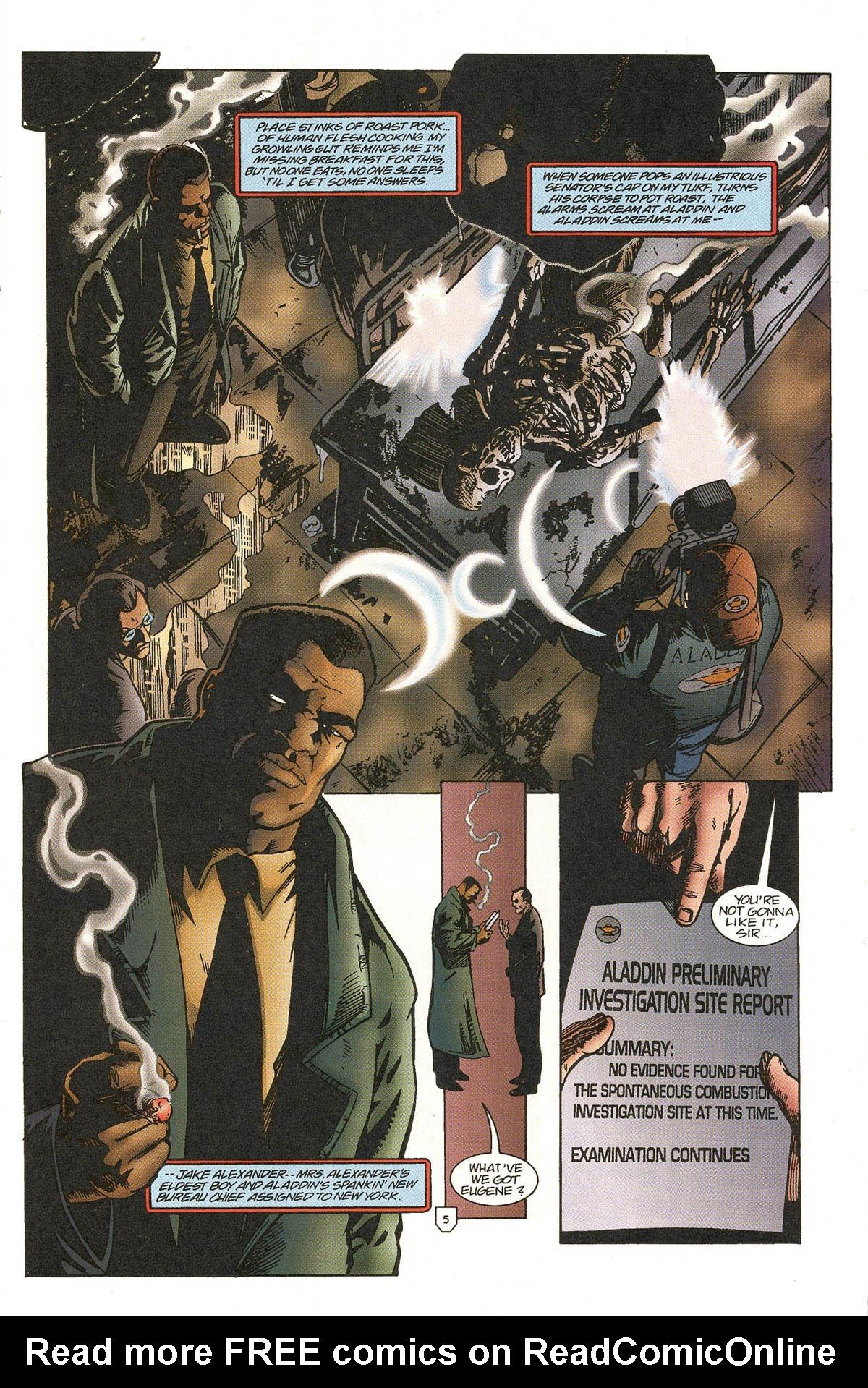 Read online UltraForce (1995) comic -  Issue #5 - 7